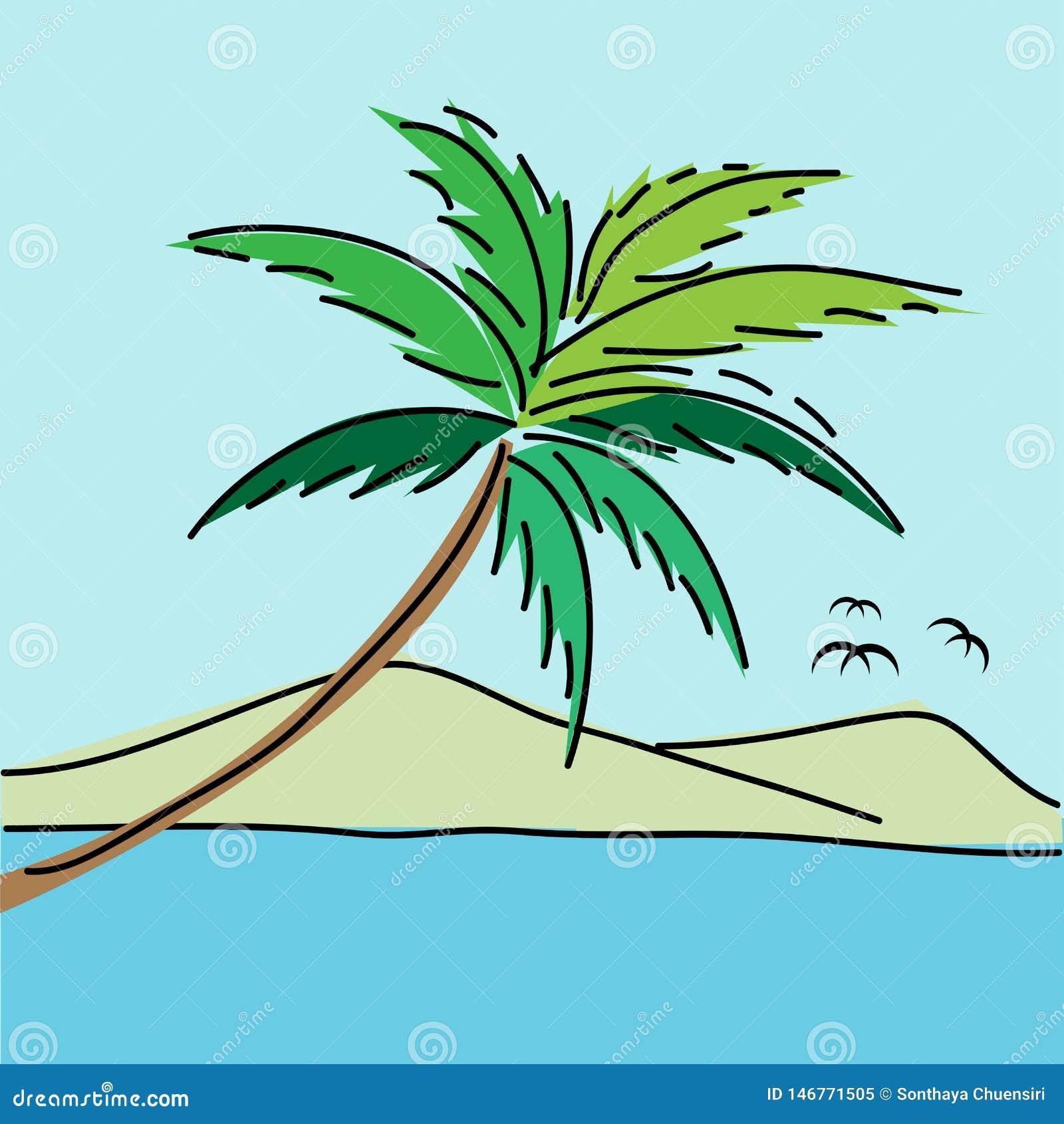 Fondo del paisaje marino