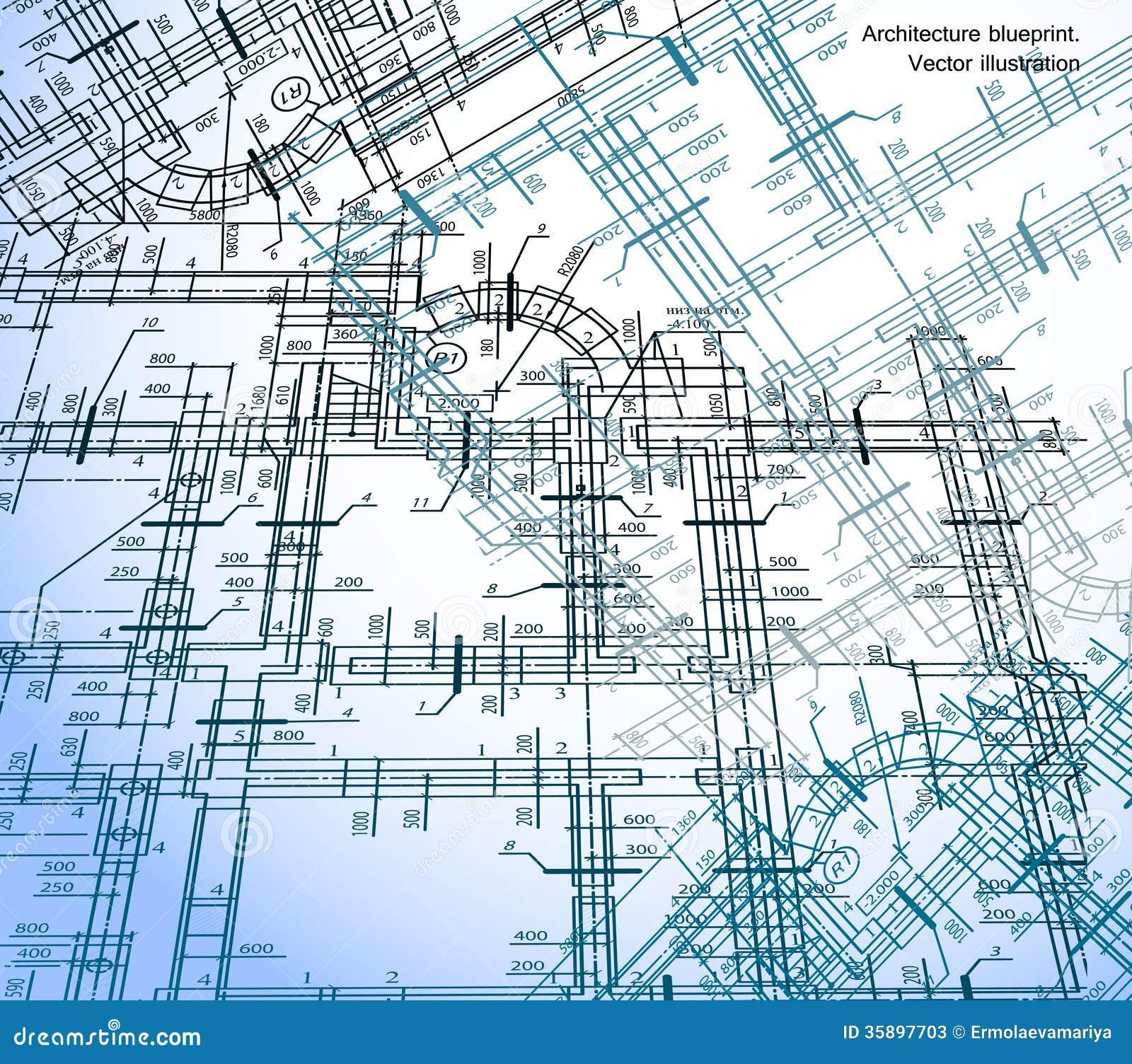 Fondo del plan de la casa de la arquitectura vector fotos for Plan de arquitectura