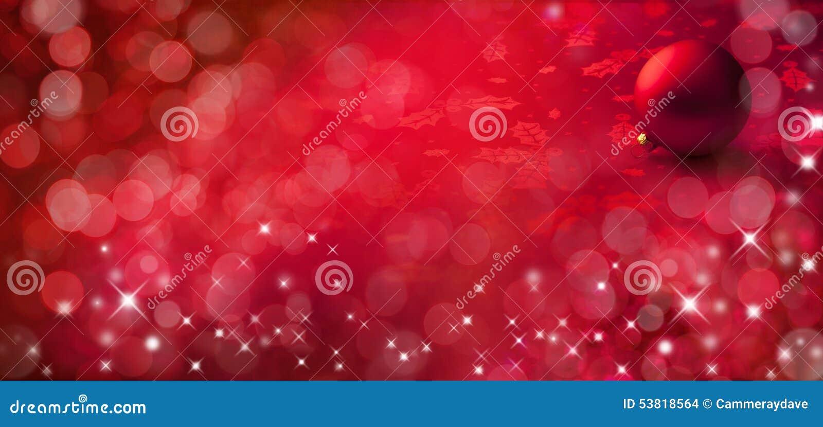 Fondo del rojo de la bandera de la Navidad
