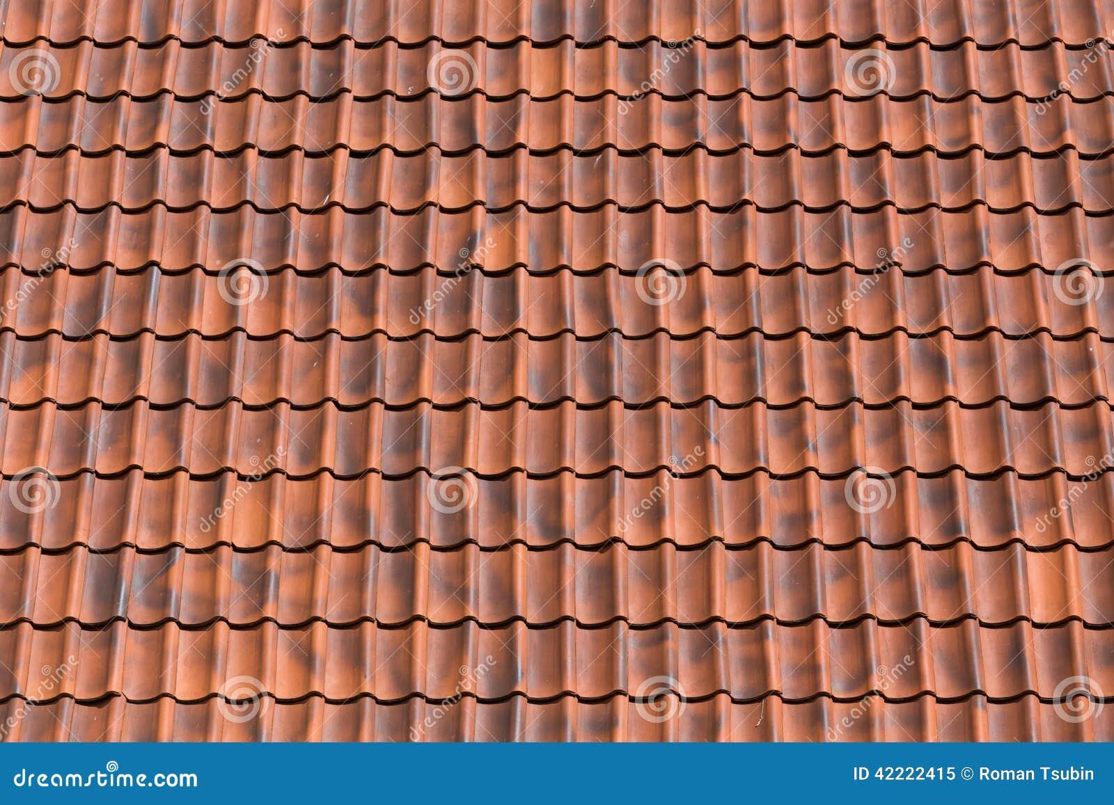 Fondo del tejado de tejas rojas foto de archivo imagen - Dibujos de tejados ...