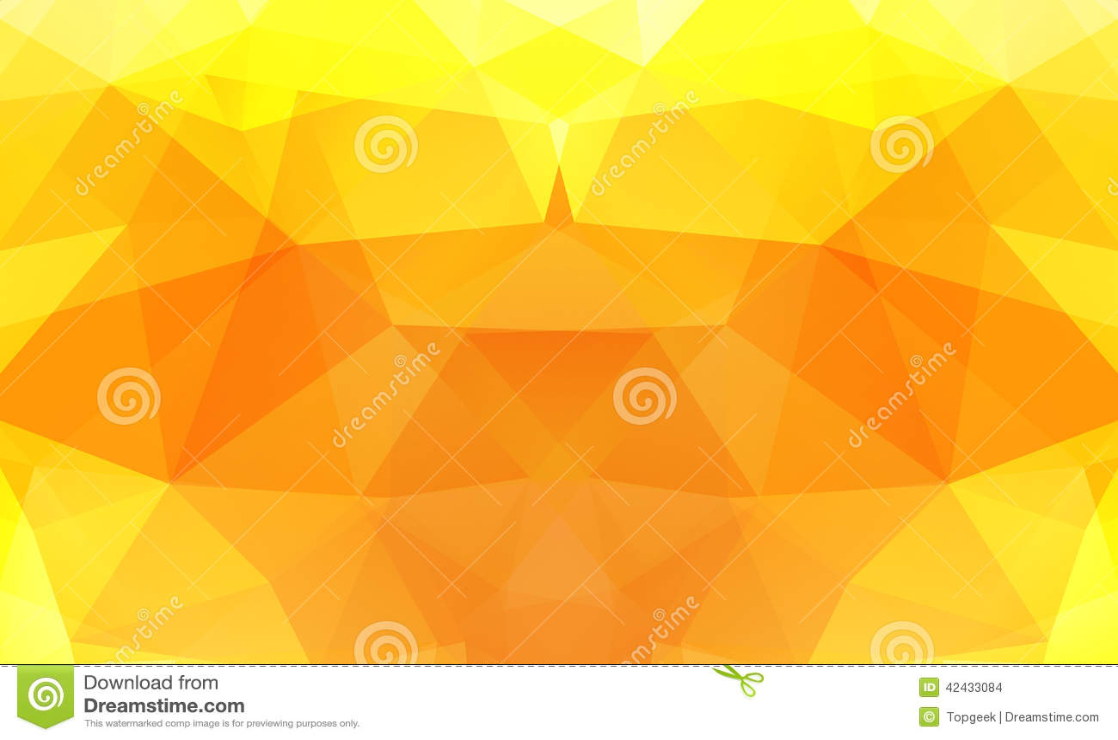 Fondo del triángulo Modelo de formas geométricas