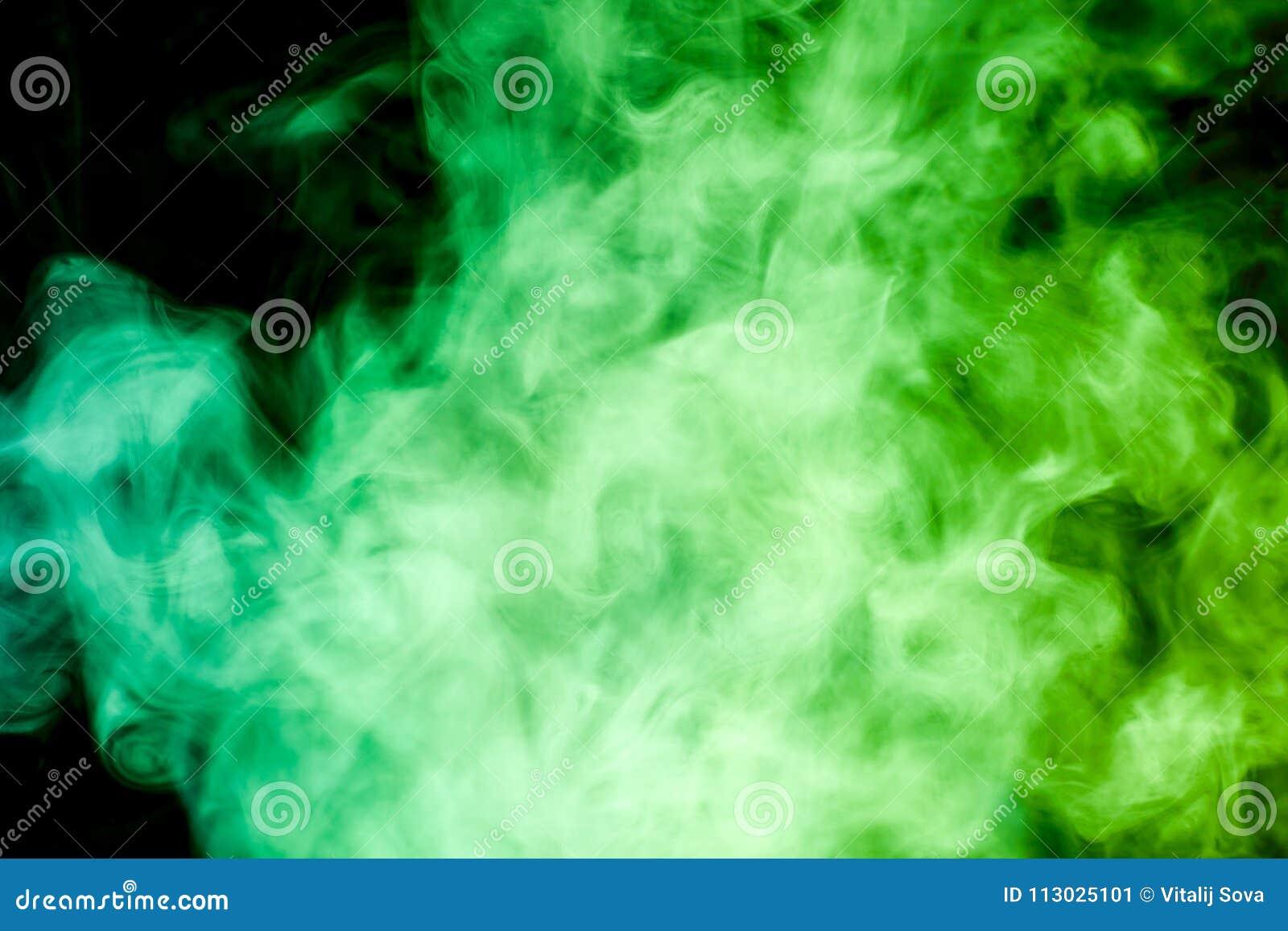 Fondo del vape del humo