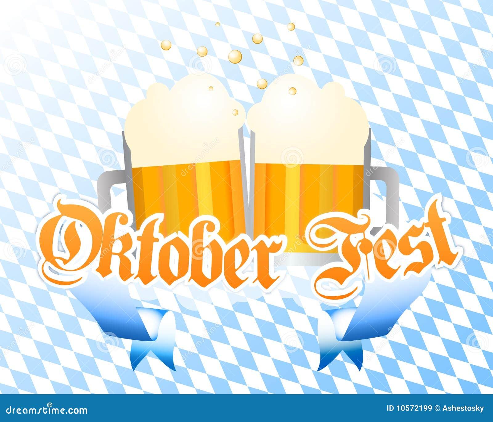 Fondo del vector de Oktoberfest