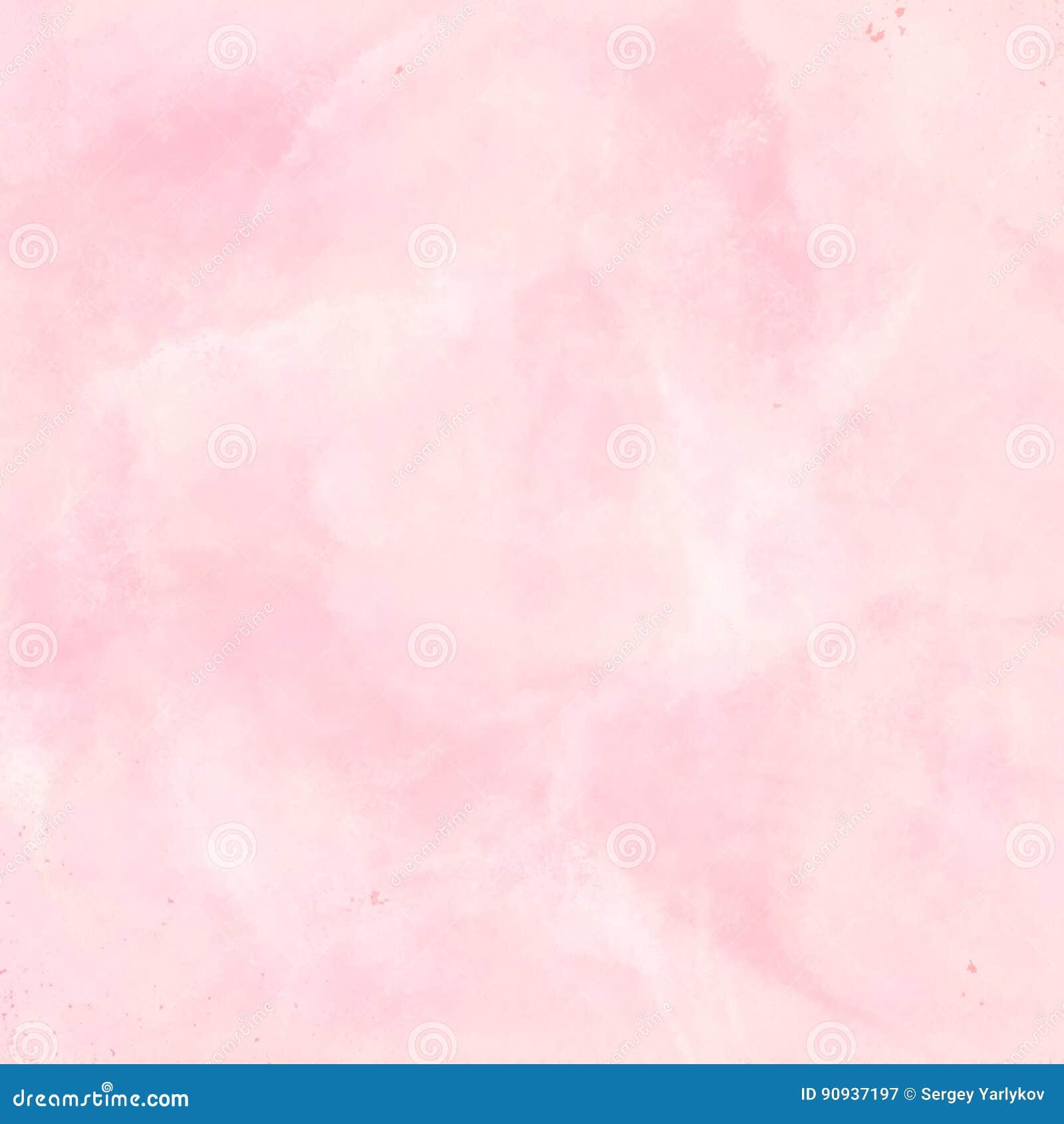 Fondo Dellacquerello Colore Rosa Fondo Rosa Pastello