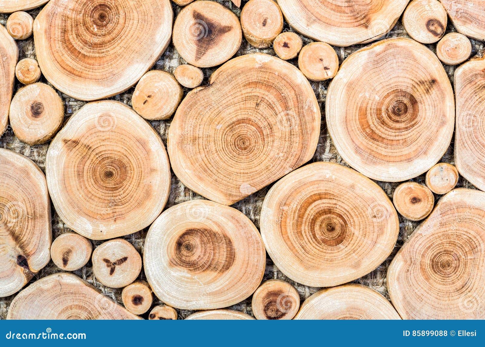 Fondo Dell\'albero Di Legno Di Betulla Del Mosaico Fotografia Stock ...