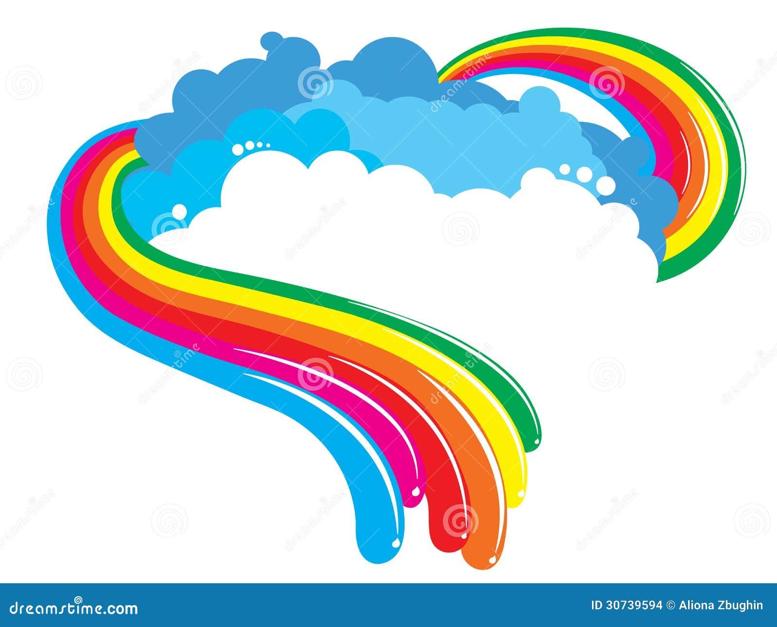 Fondo dell arcobaleno