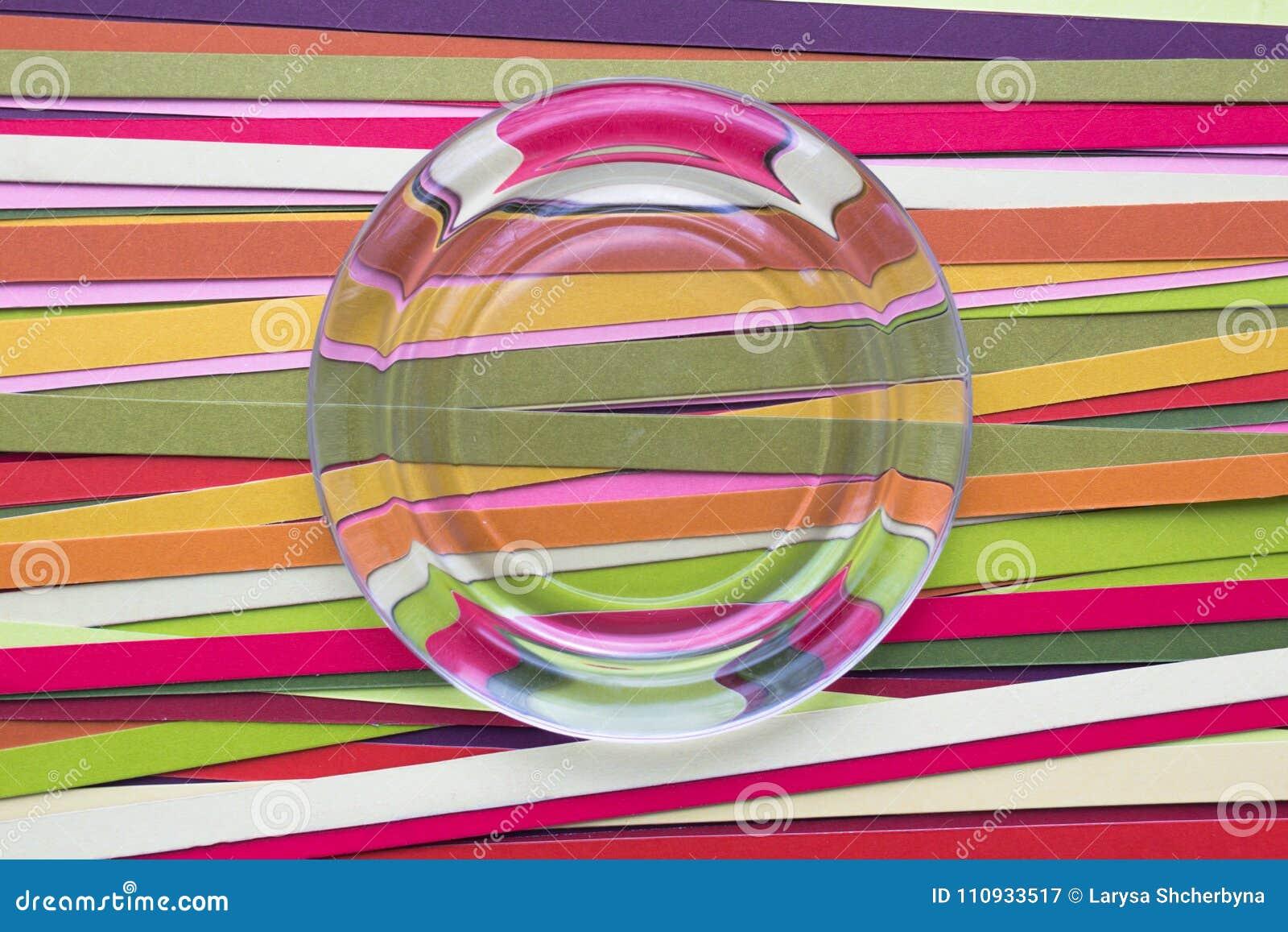 Fondo dell arcobaleno delle linee di colore