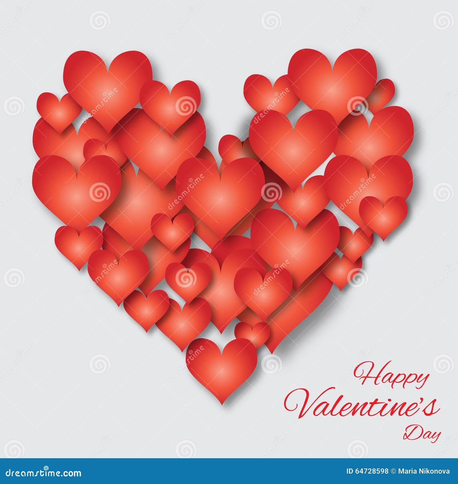Fondo dell 39 estratto di applique di san valentino con il for Pensierini di san valentino