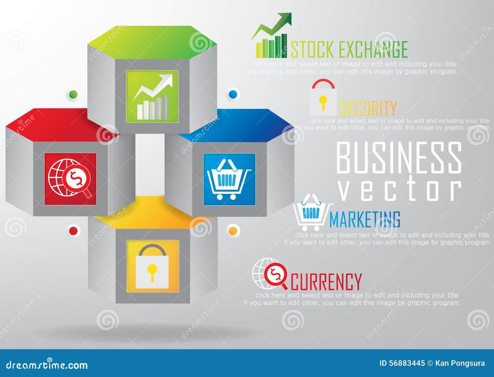 Fondo dell opuscolo del modello di affari