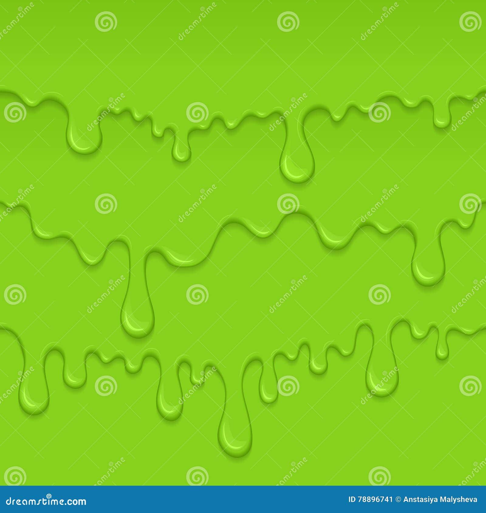 Fondo della melma di verde di goccia