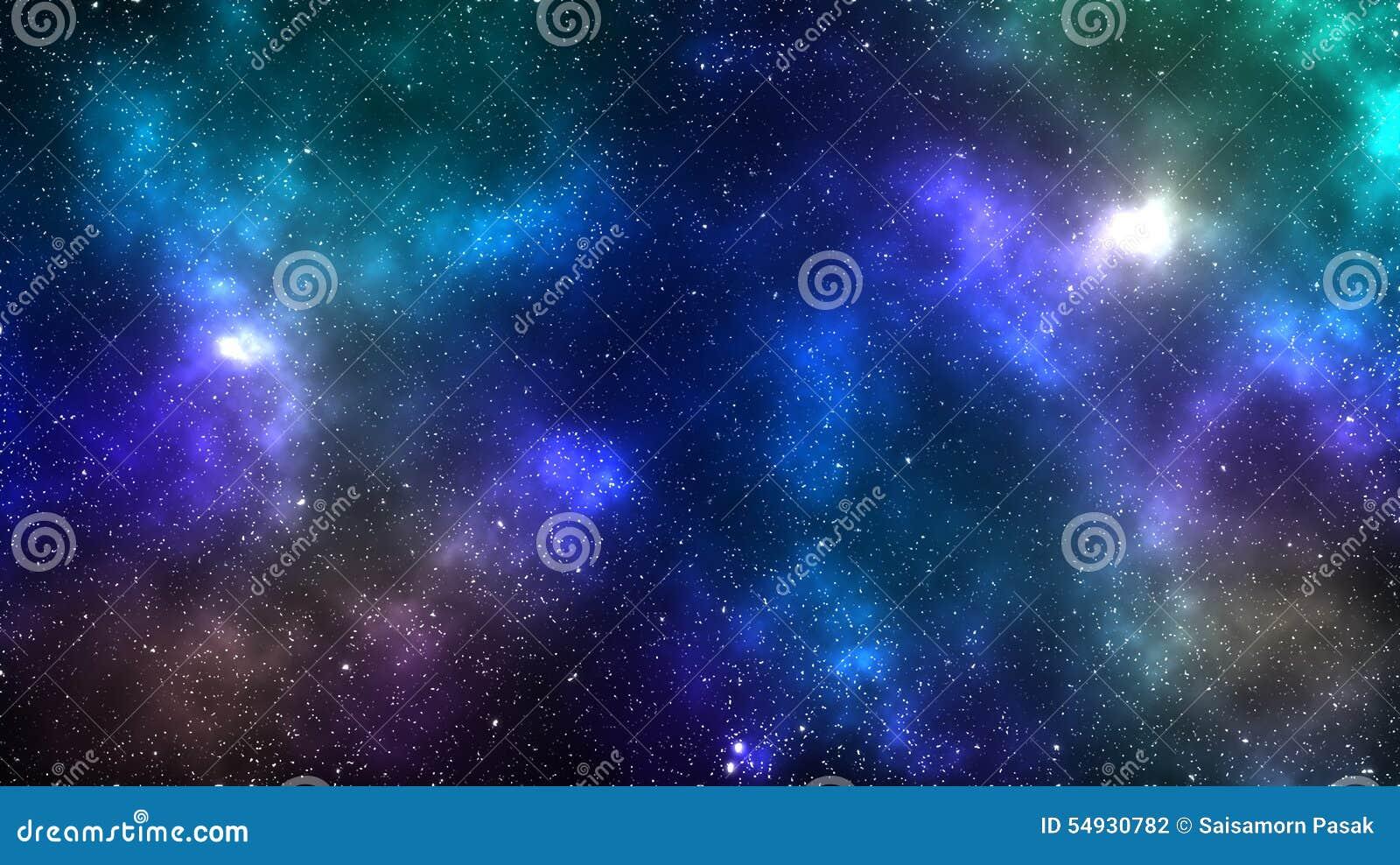 Fondo della nebulosa dello spazio della galassia