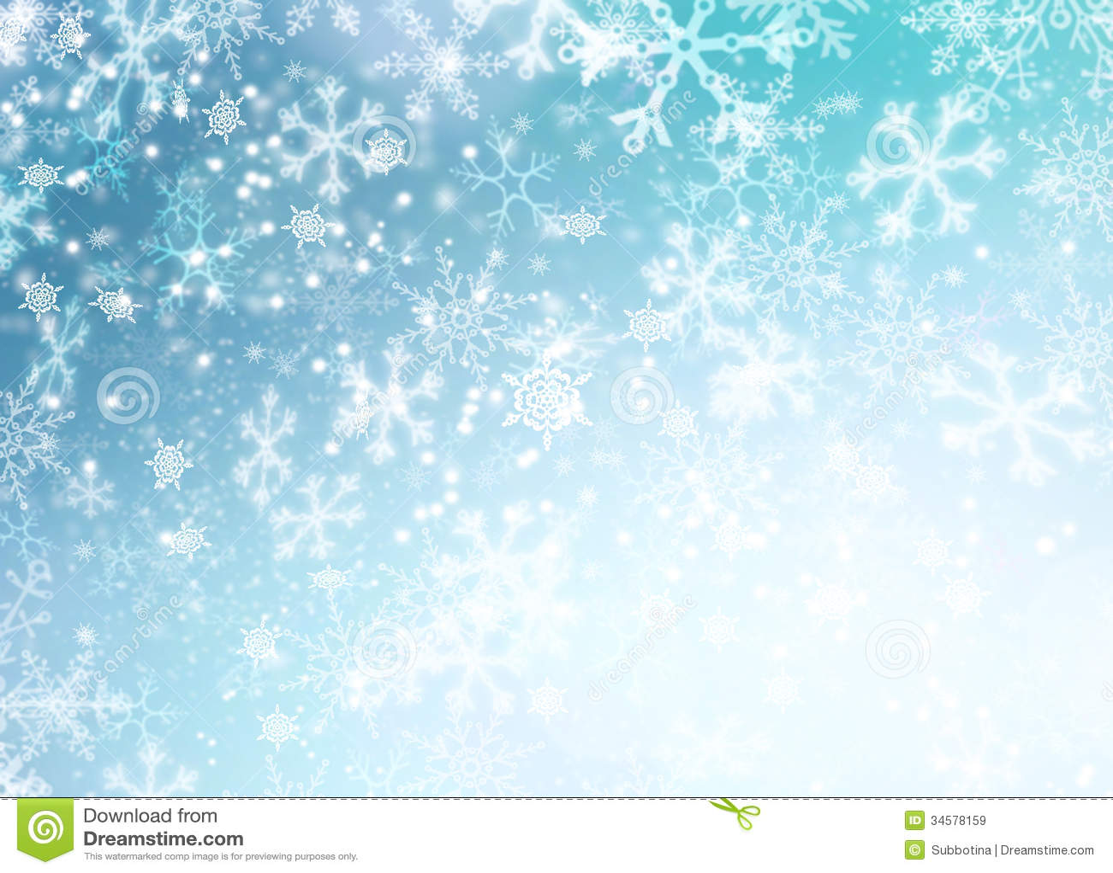 Fondo della neve di vacanza invernale