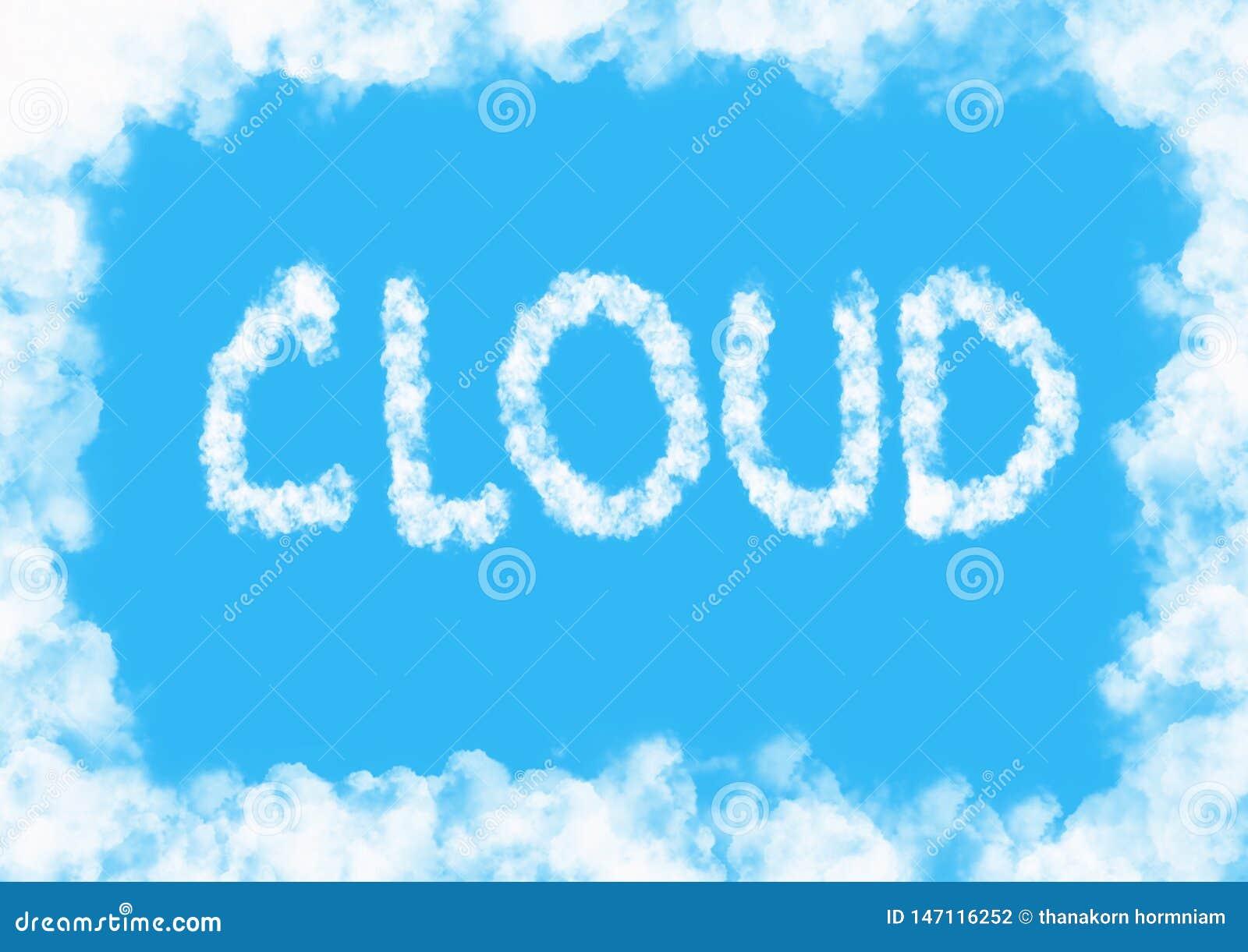 Fondo della nuvola