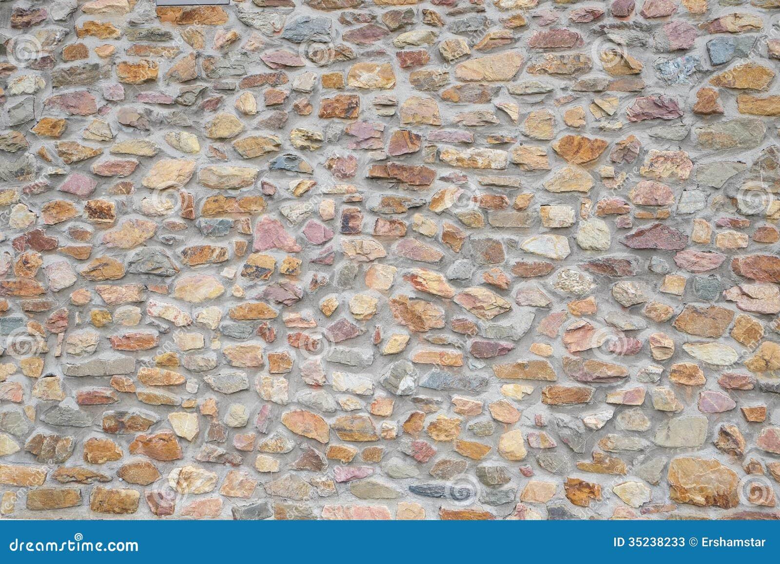 Fondo della parete di pietra