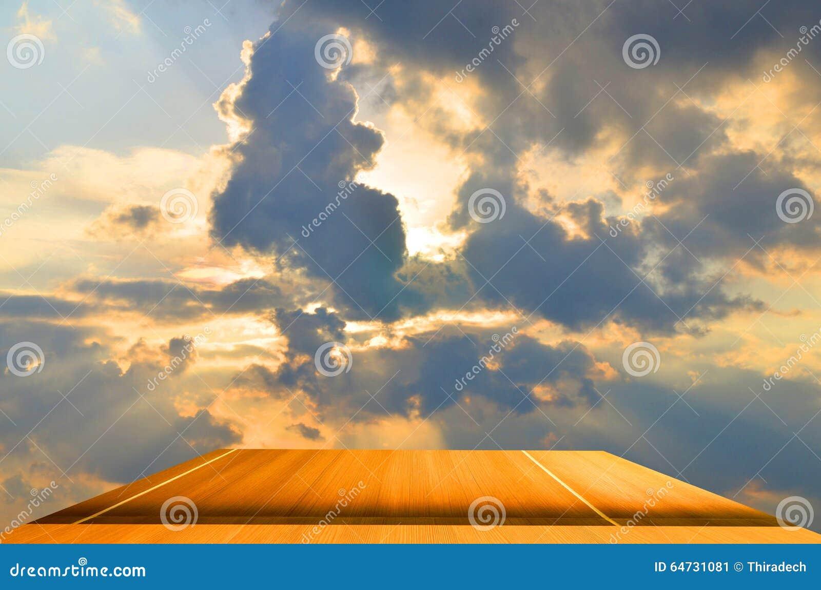 Fondo della plancia del sole blu