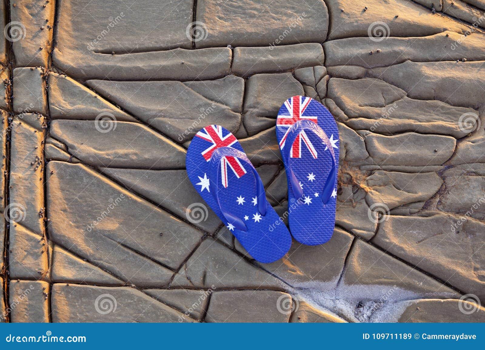 Fondo delle cinghie della bandiera dell Australia dell australiano