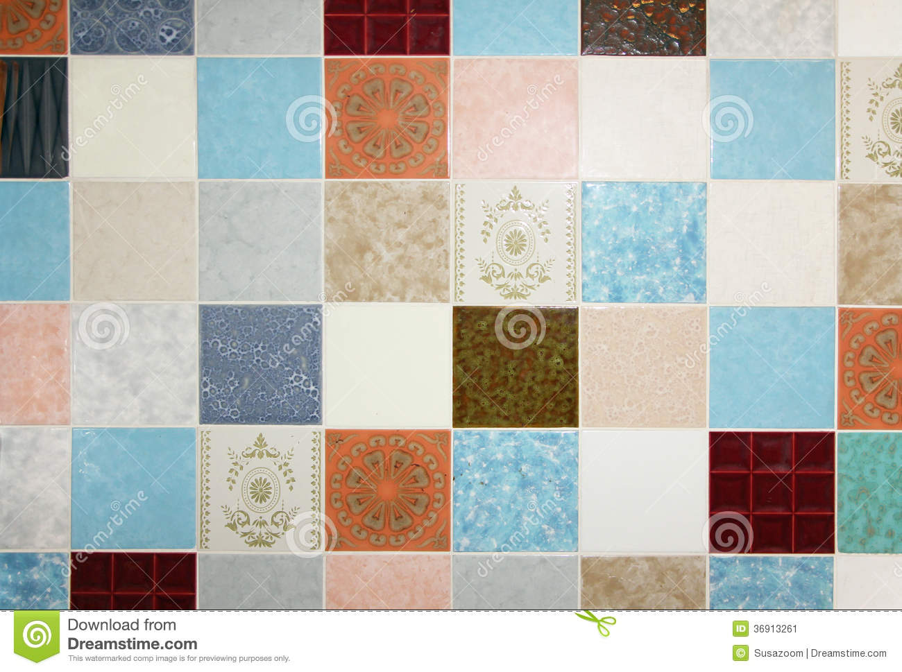 Illustrazione stock a tema country patchwork quilt seamless
