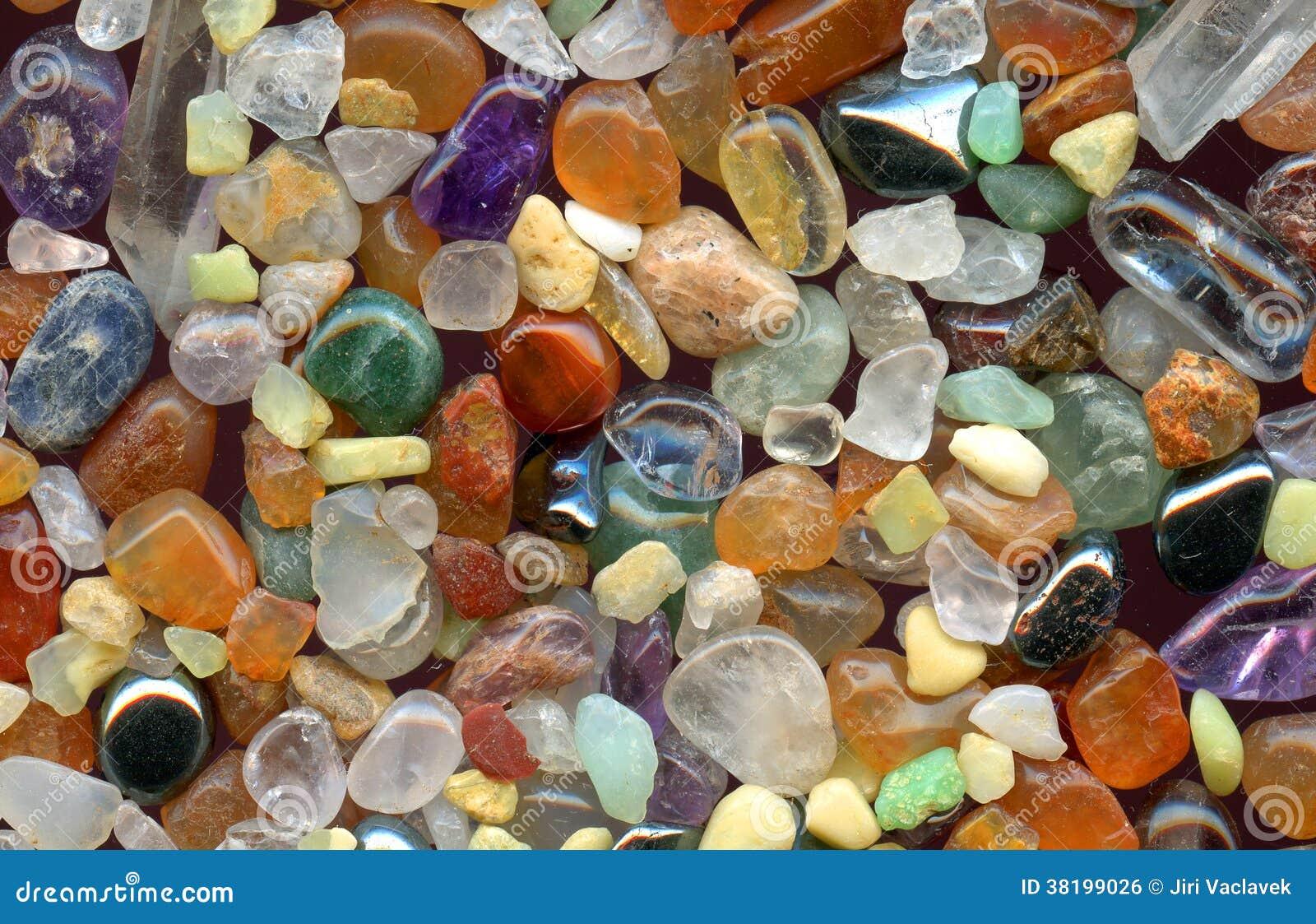 Fondo delle pietre preziose di colore immagine stock - Propiedades piedras naturales ...