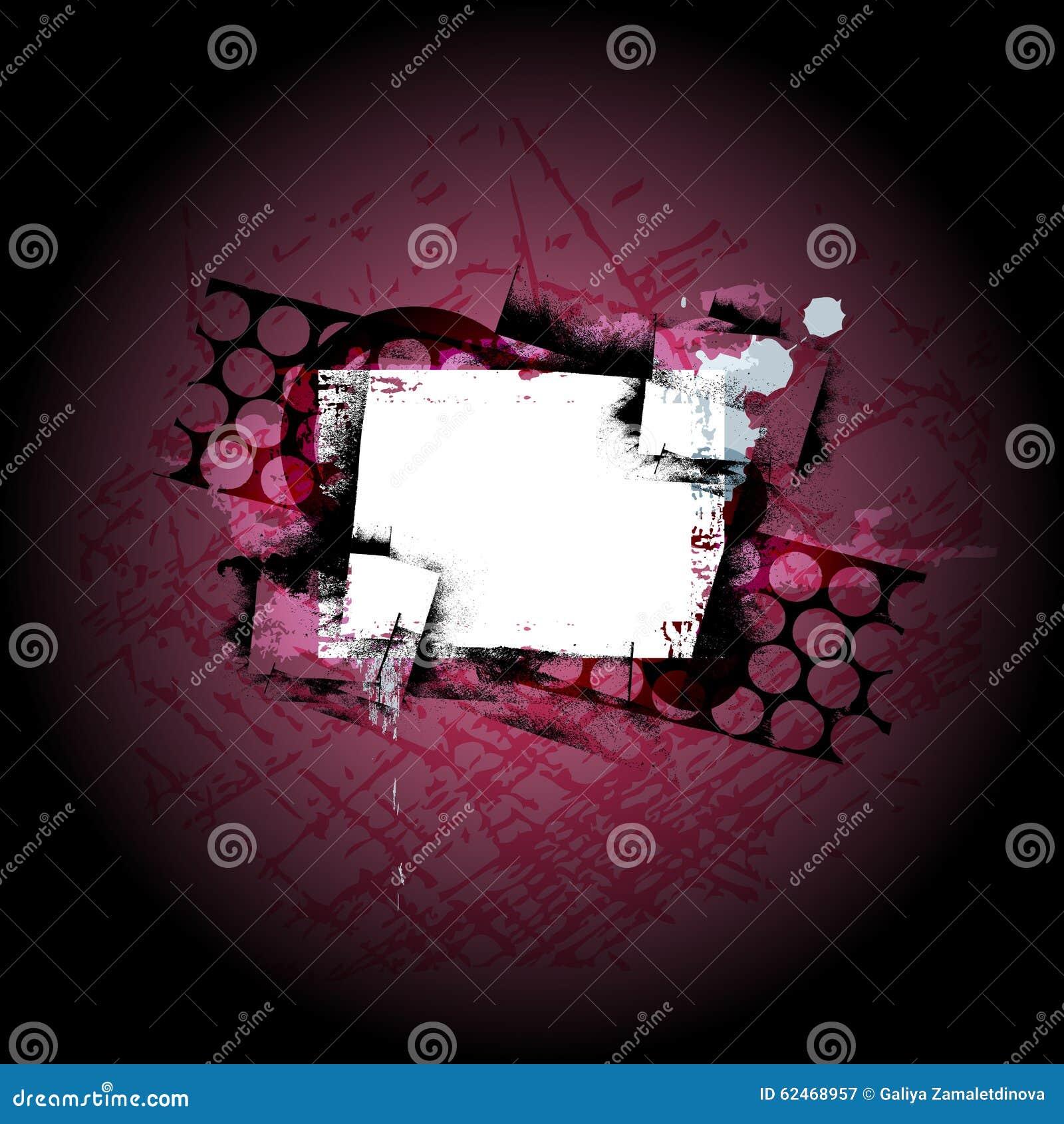 Fondo dello schermo di lerciume illustrazione vettoriale for Portico dello schermo prefabbricato