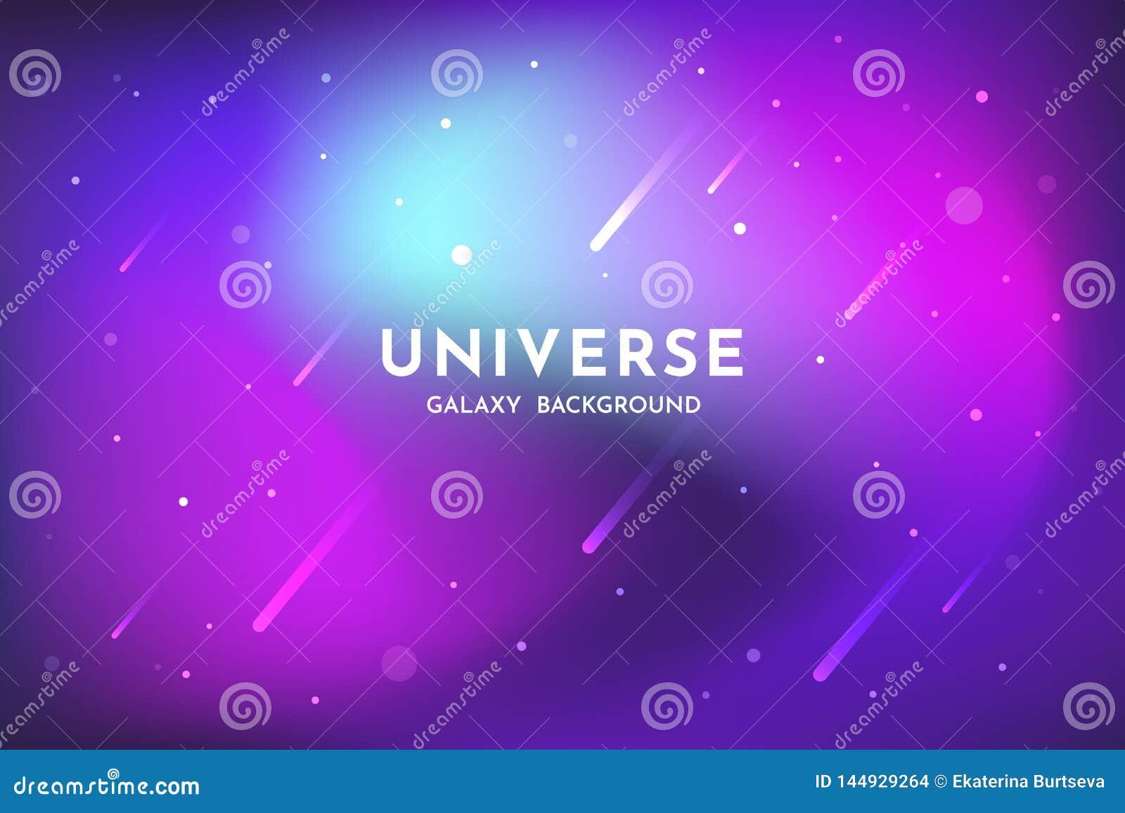 Fondo dello spazio cosmico Universo, modello d ardore del contesto dell estratto della galassia