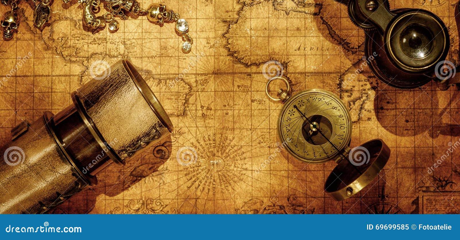 Fondo di concetto di navigazione di geografia di viaggio
