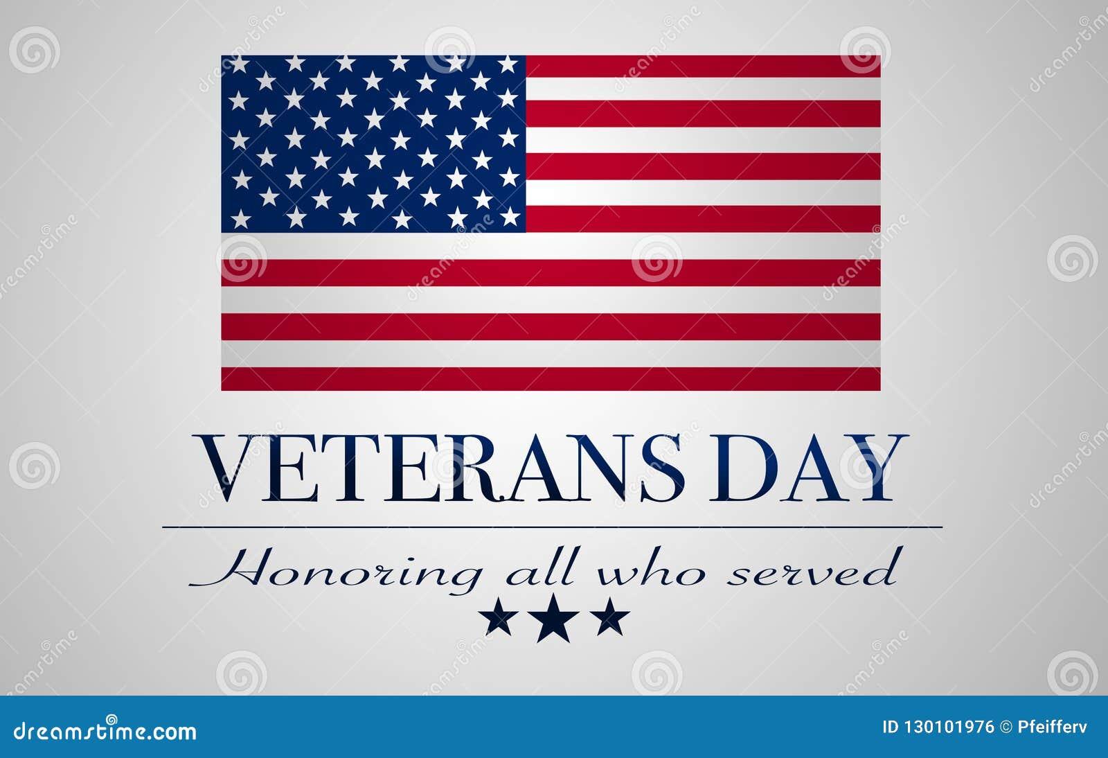 Fondo di giornata dei veterani