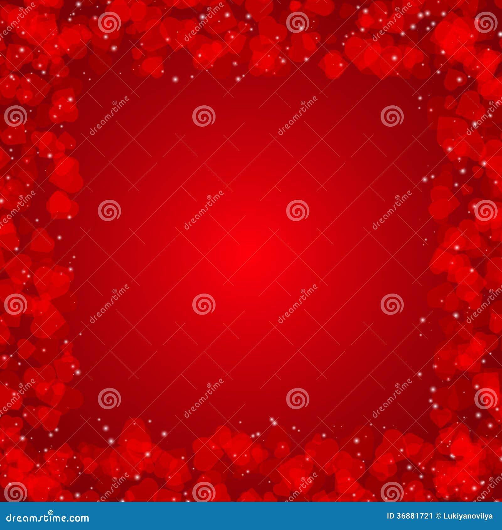 Download Fondo Di Giorno Di Biglietti Di S. Valentino Con I Cuori Illustrazione Vettoriale - Illustrazione di celebrazione, romanzesco: 36881721