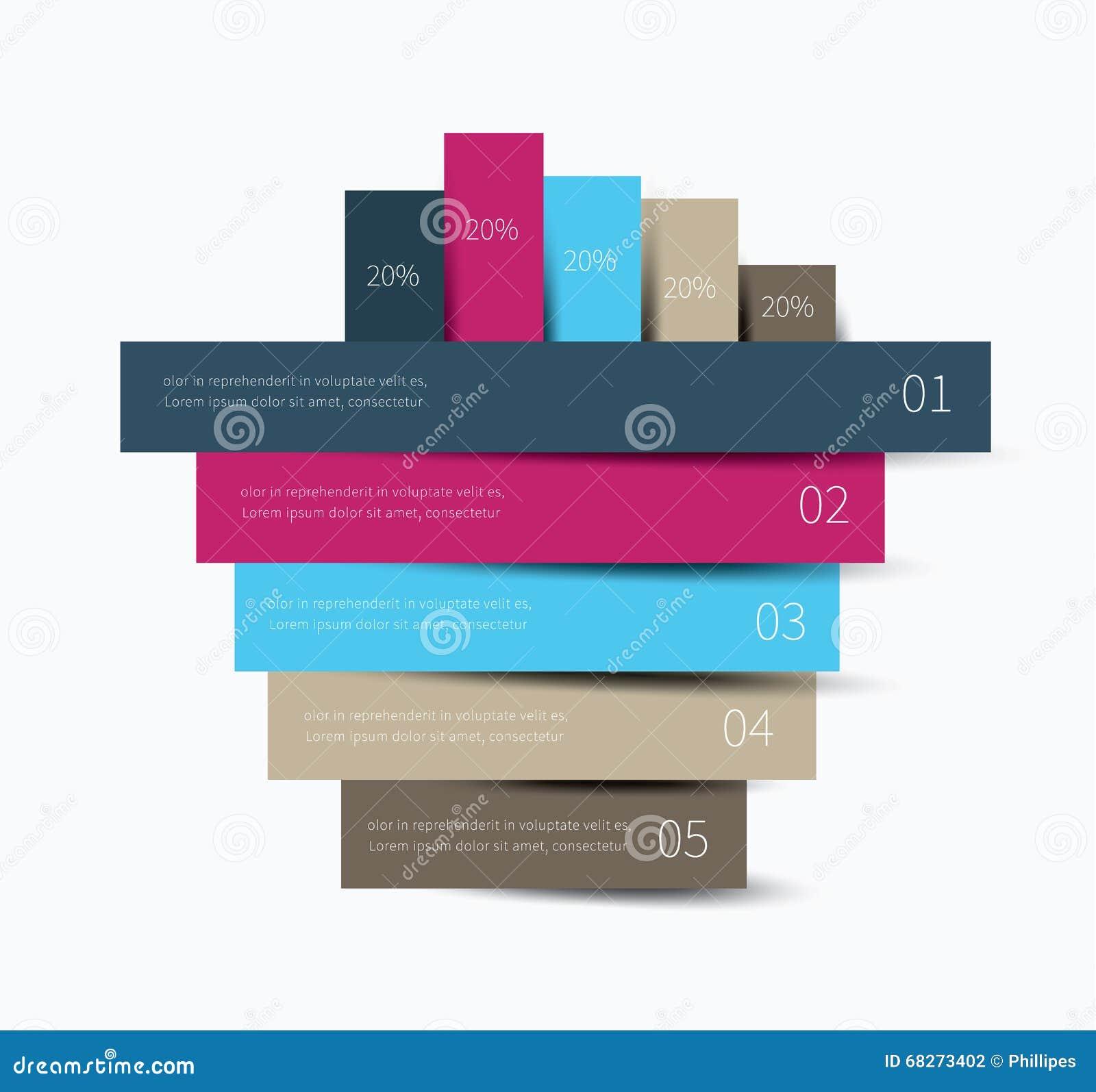 Fondo di Infographics