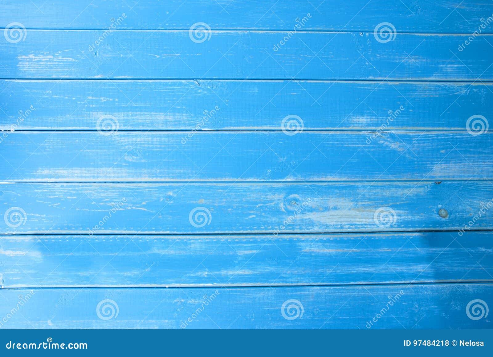 Fondo di legno d annata blu-chiaro, spazio della copia
