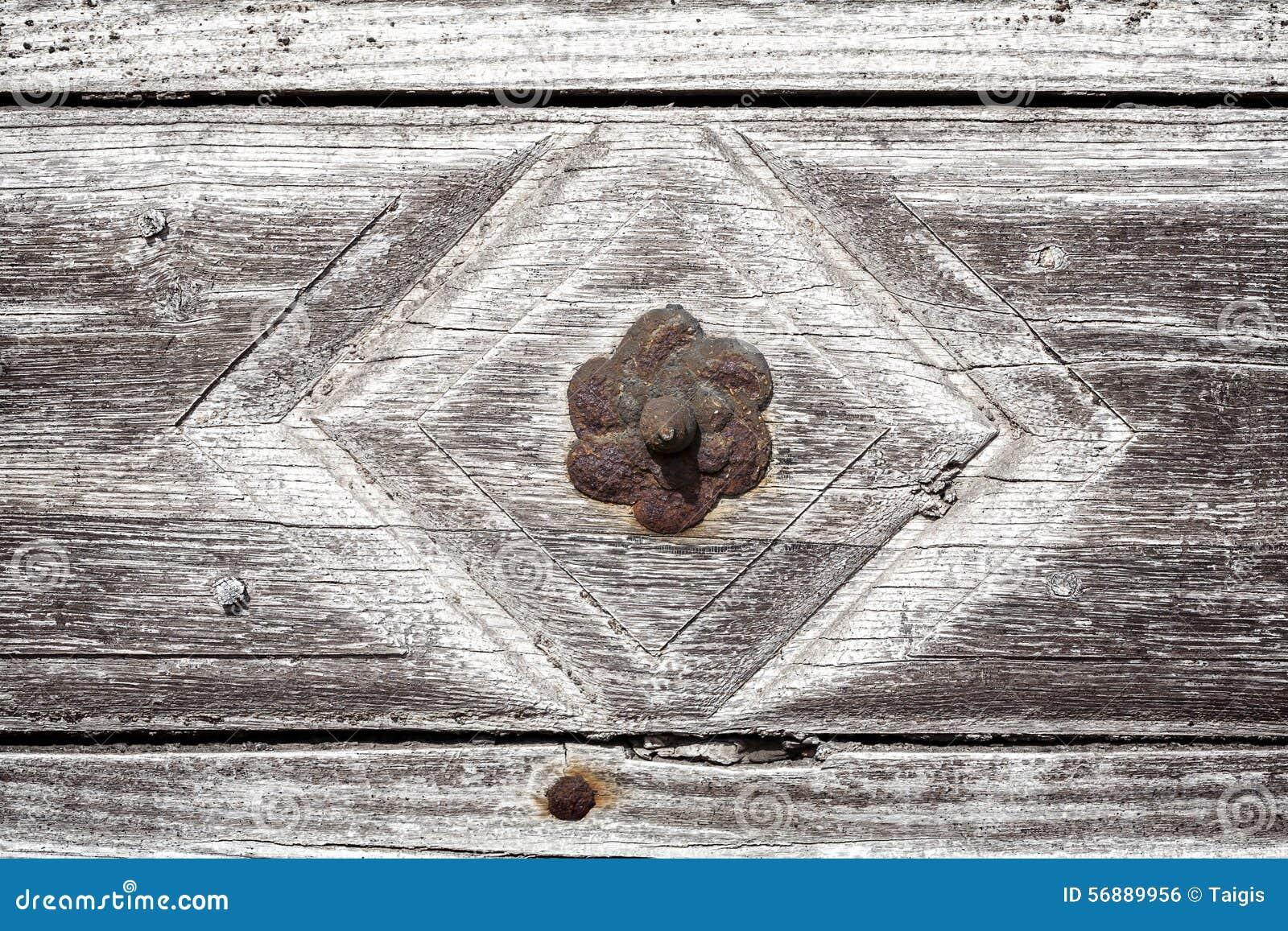 Fondo di legno della parete