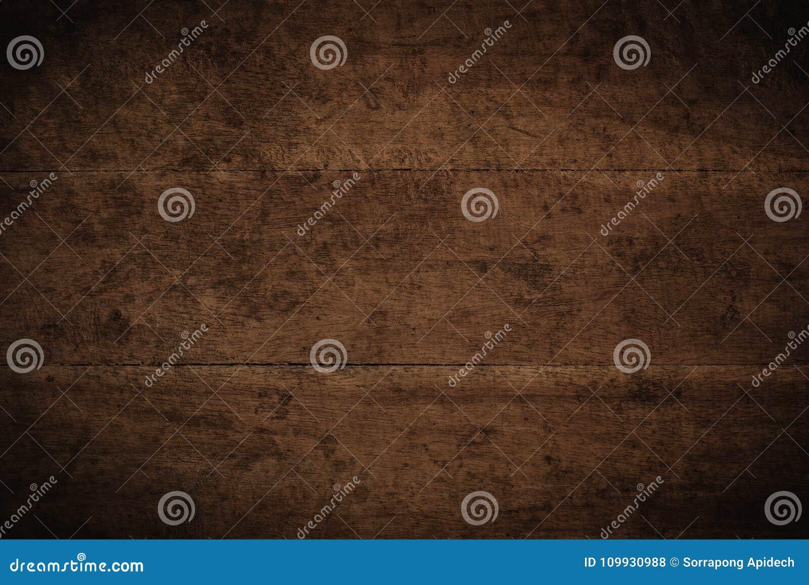 Fondo di legno strutturato scuro di vecchio lerciume, la superficie del ol