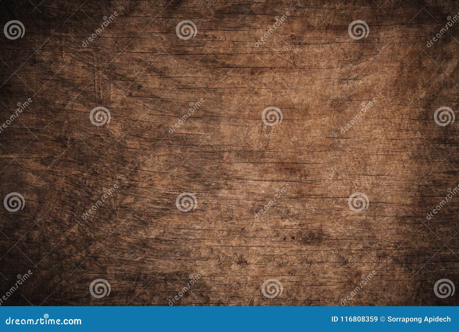 Fondo di legno strutturato scuro di vecchio lerciume, la superficie di vecchia struttura di legno marrone, incorniciatura di legn