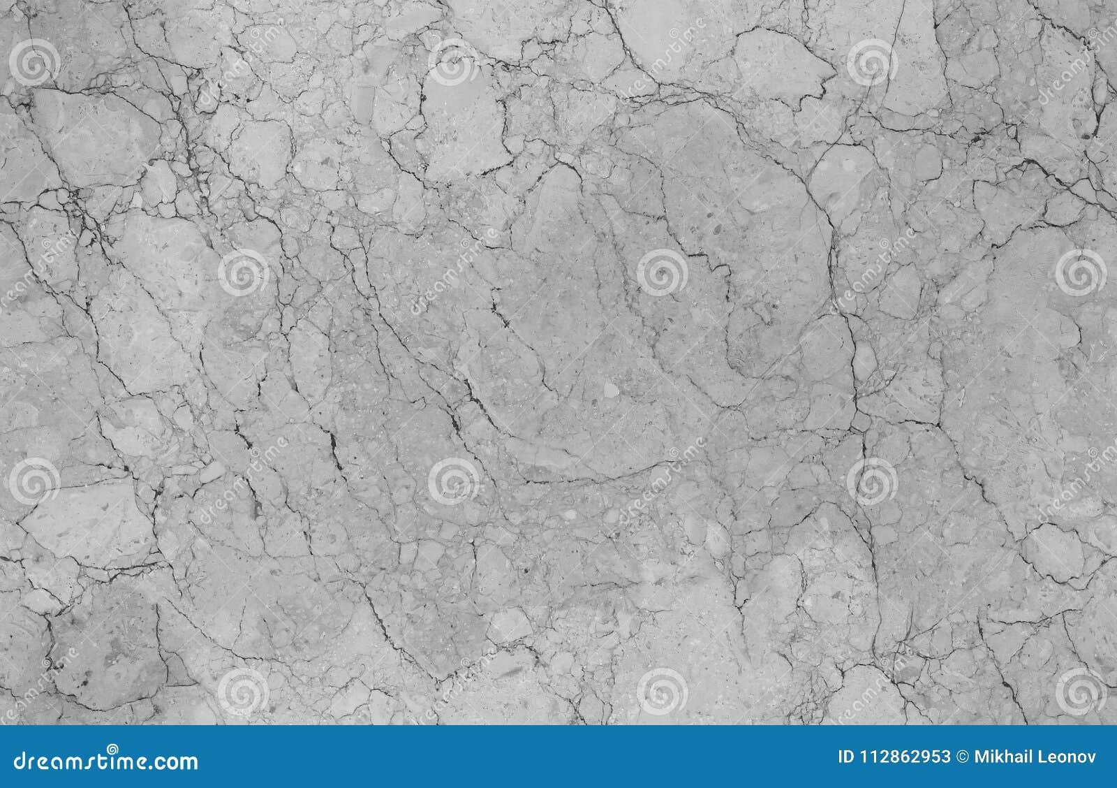 Fondo di pietra di marmo senza cuciture naturale grigio chiaro del modello di struttura Superficie di marmo senza cuciture di pie