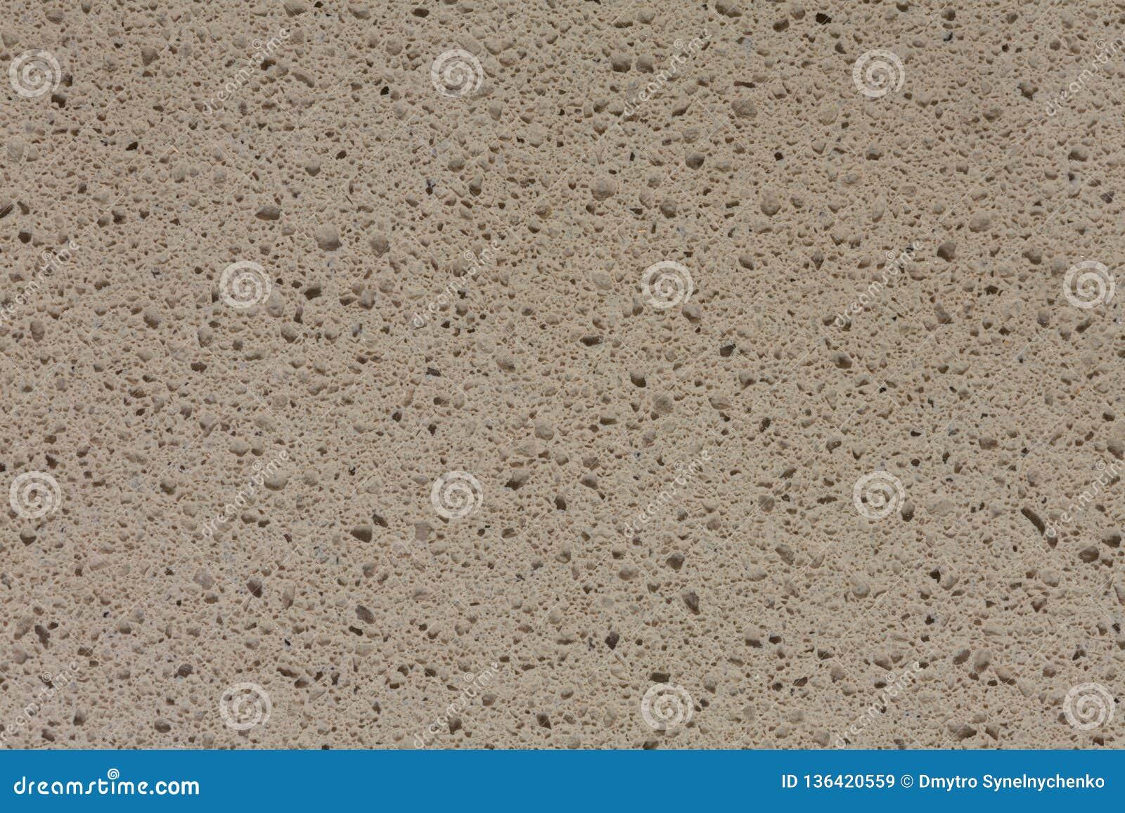 Fondo di pietra sintetico grigio piacevole raro sulla macro