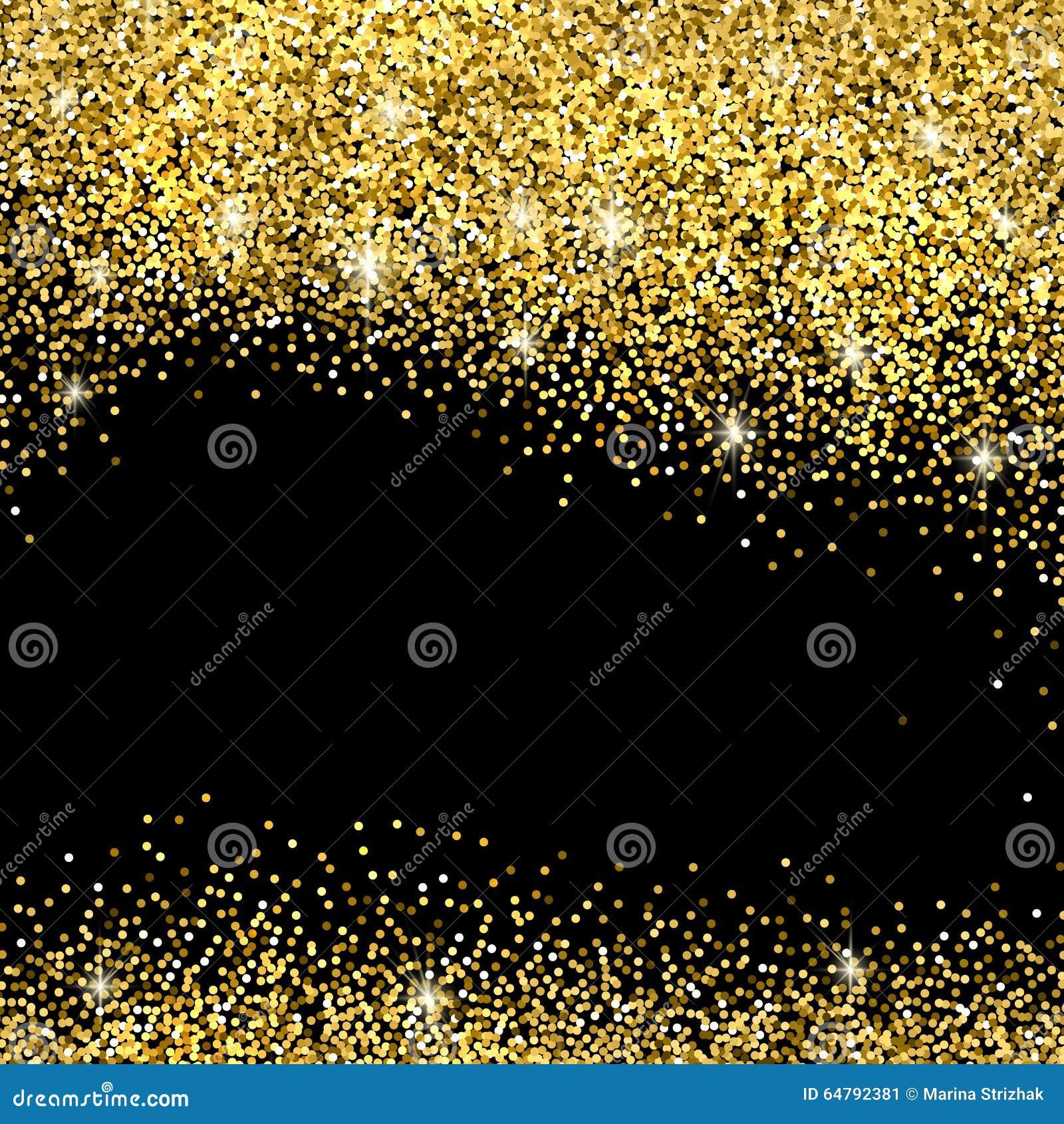 Fondo di scintillio dell oro