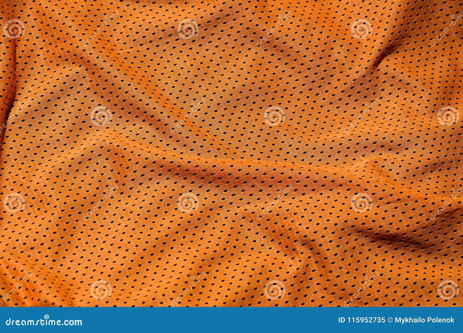 Fondo di struttura del tessuto dell abbigliamento di sport Vista superiore della superficie di nylon del tessuto del panno del po