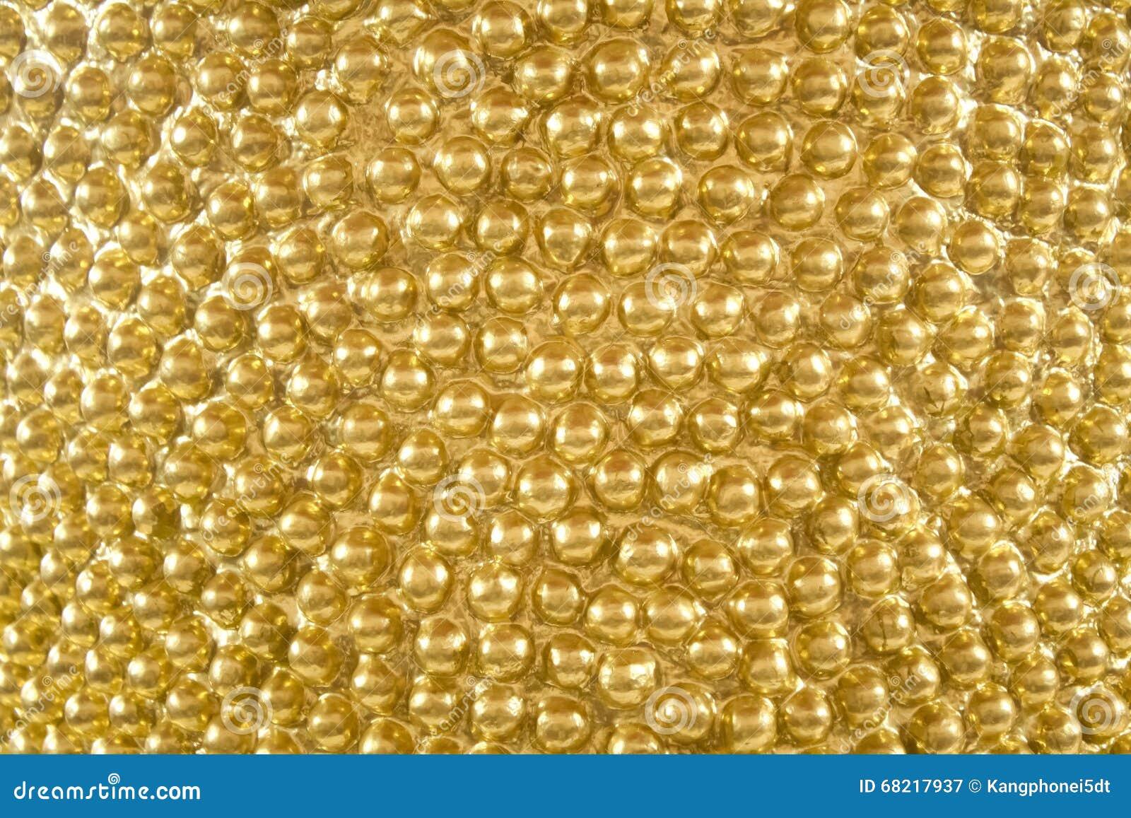 Fondo di struttura dell oro