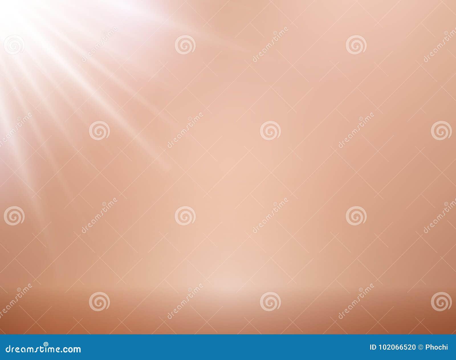 Fondo di vettore dell oro di rosa con illuminazione sedere rosa