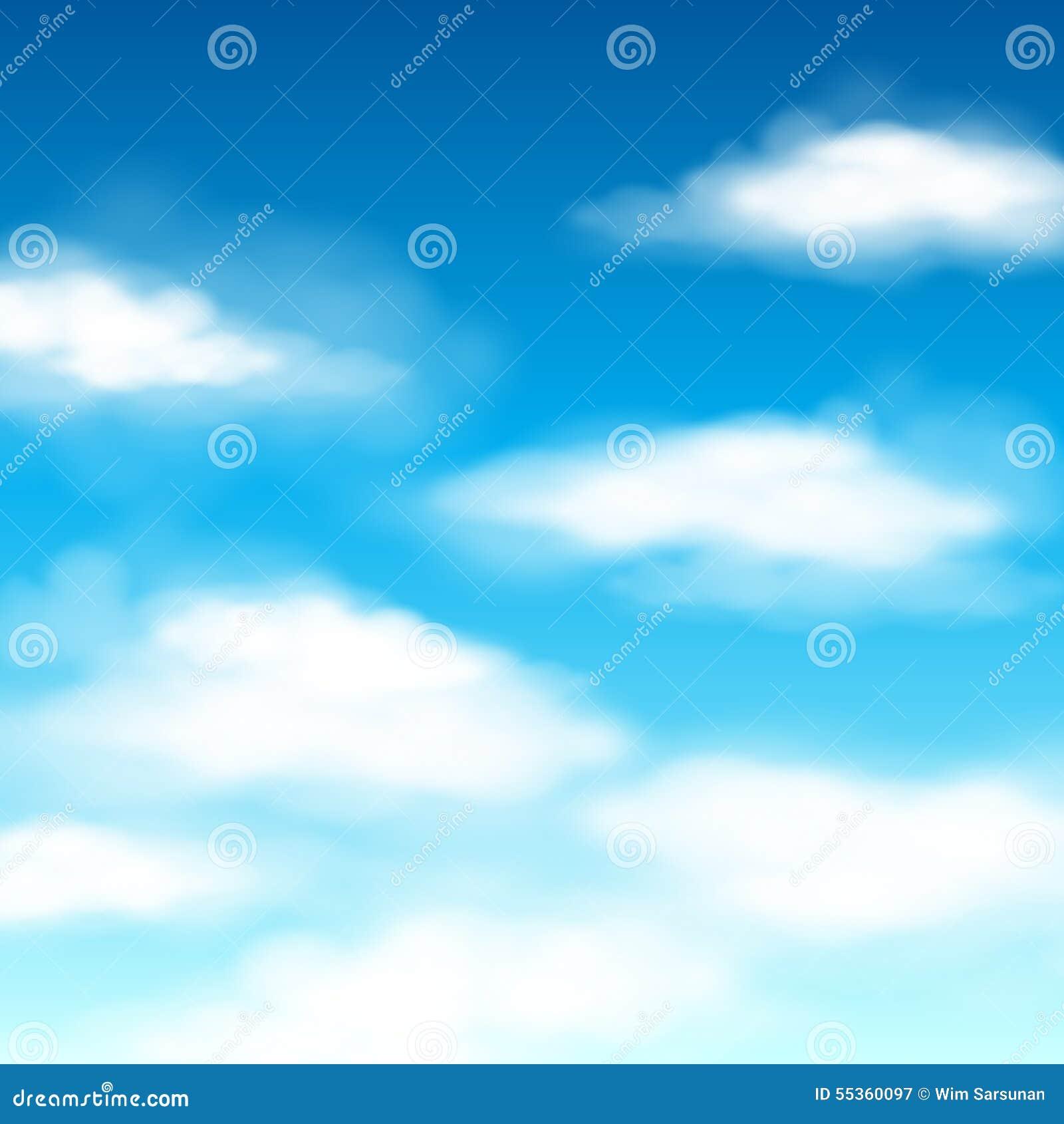 Fondo di vettore della nuvola