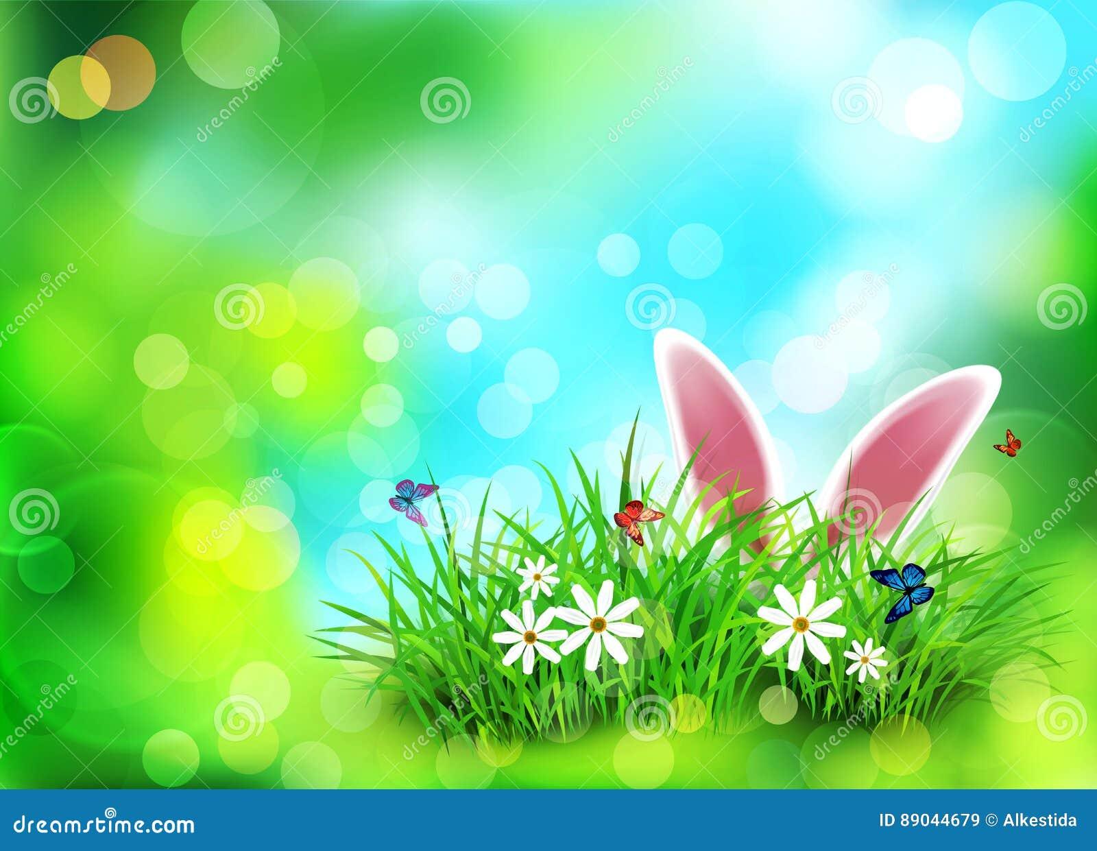 spedizione gratuita rivenditore online stile moderno Fondo Di Vettore Per Pasqua Mascherina Orecchie Di Coniglio ...