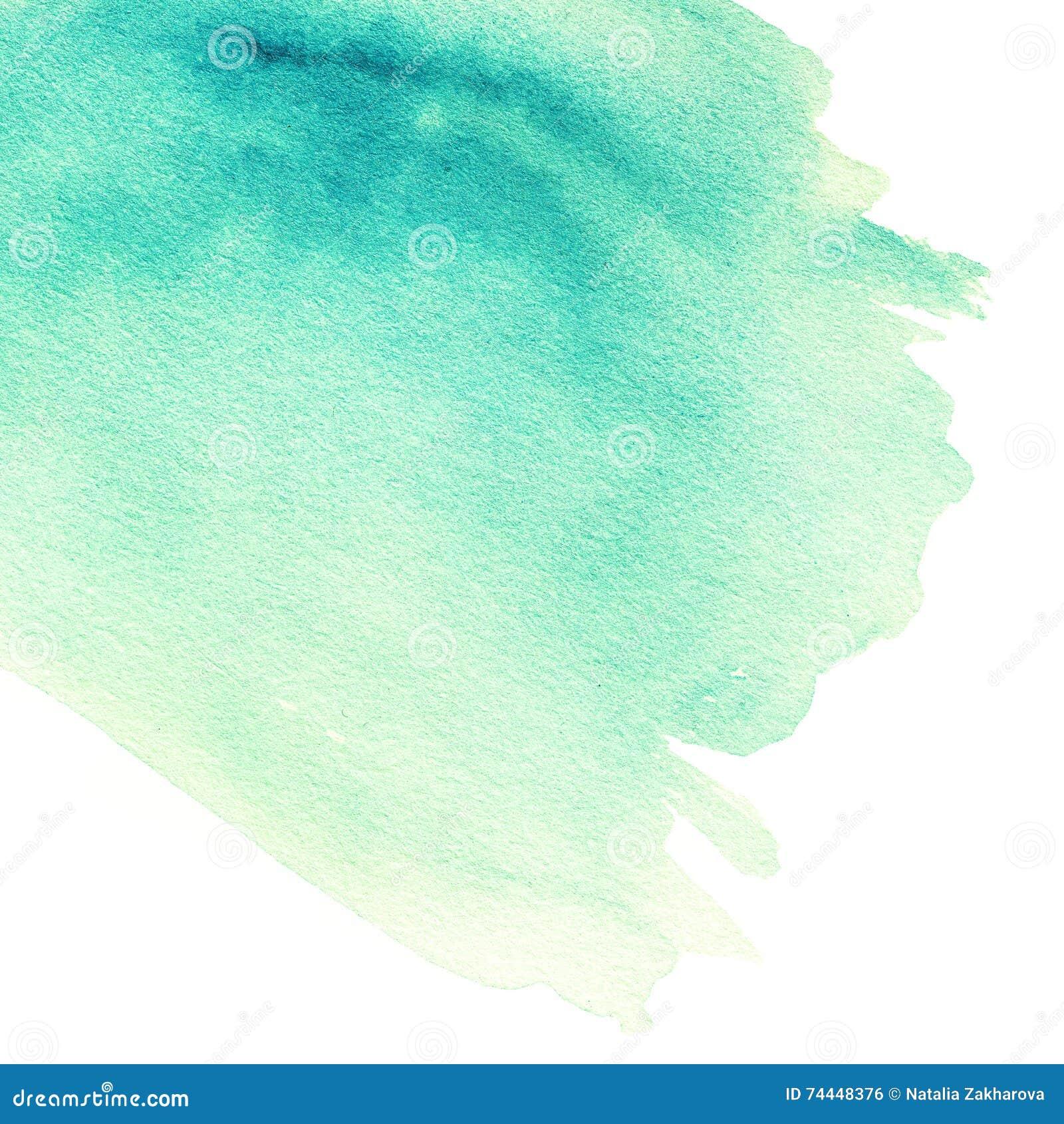 Fondo dibujado mano abstracta del watercolour Pinte la textura, isola