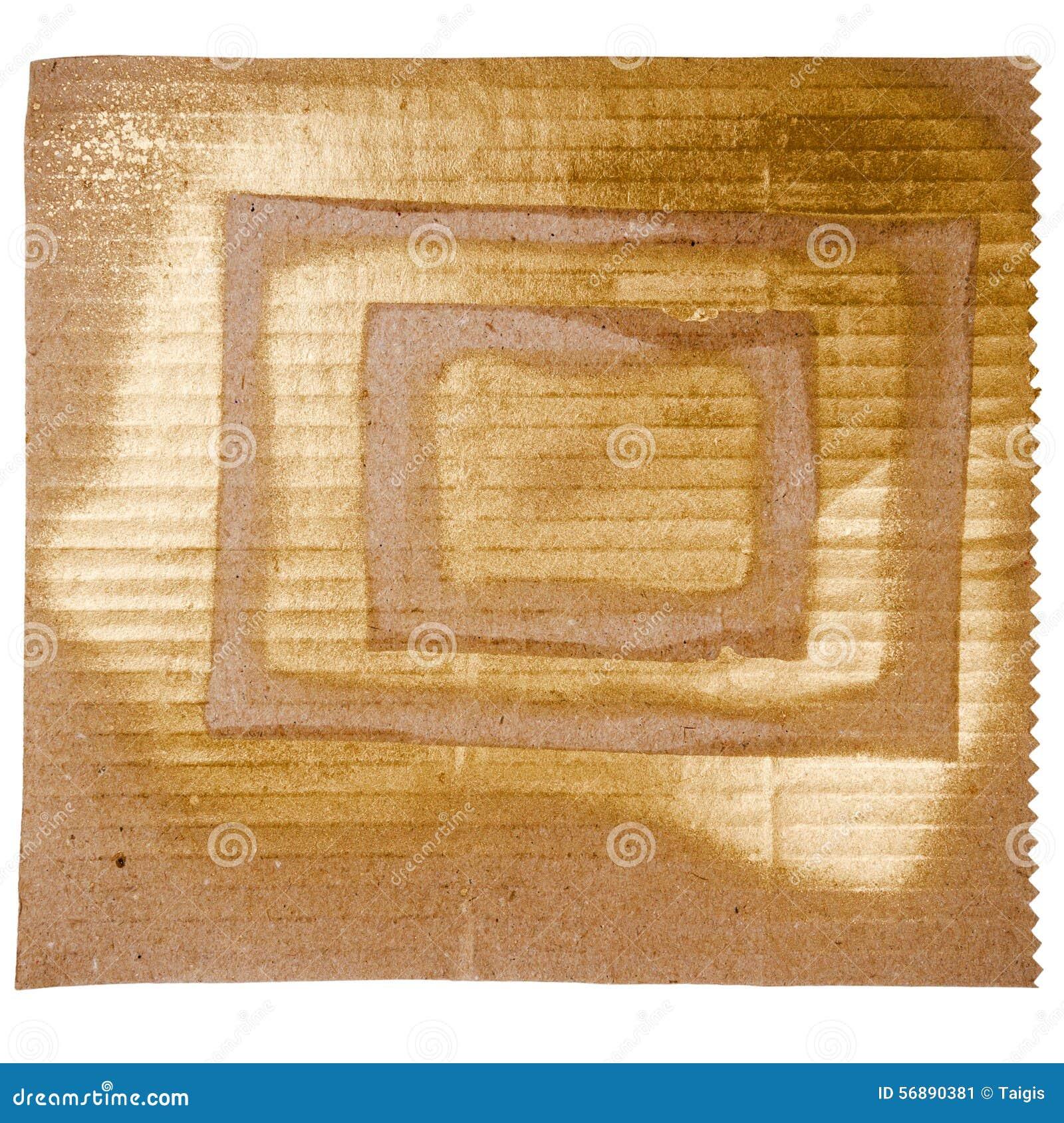 Fondo dorato astratto di arte