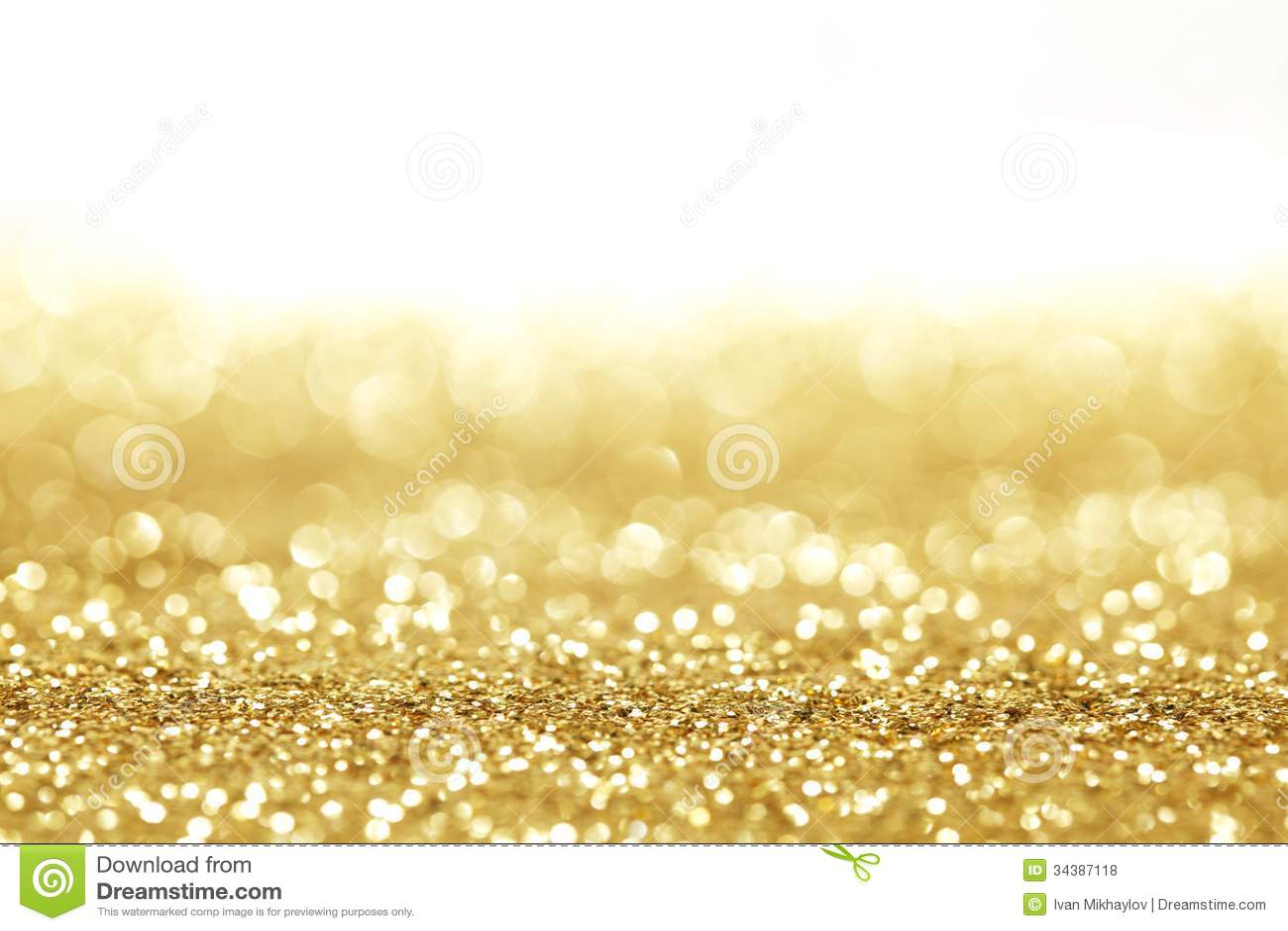 Fondo dorato di scintillio