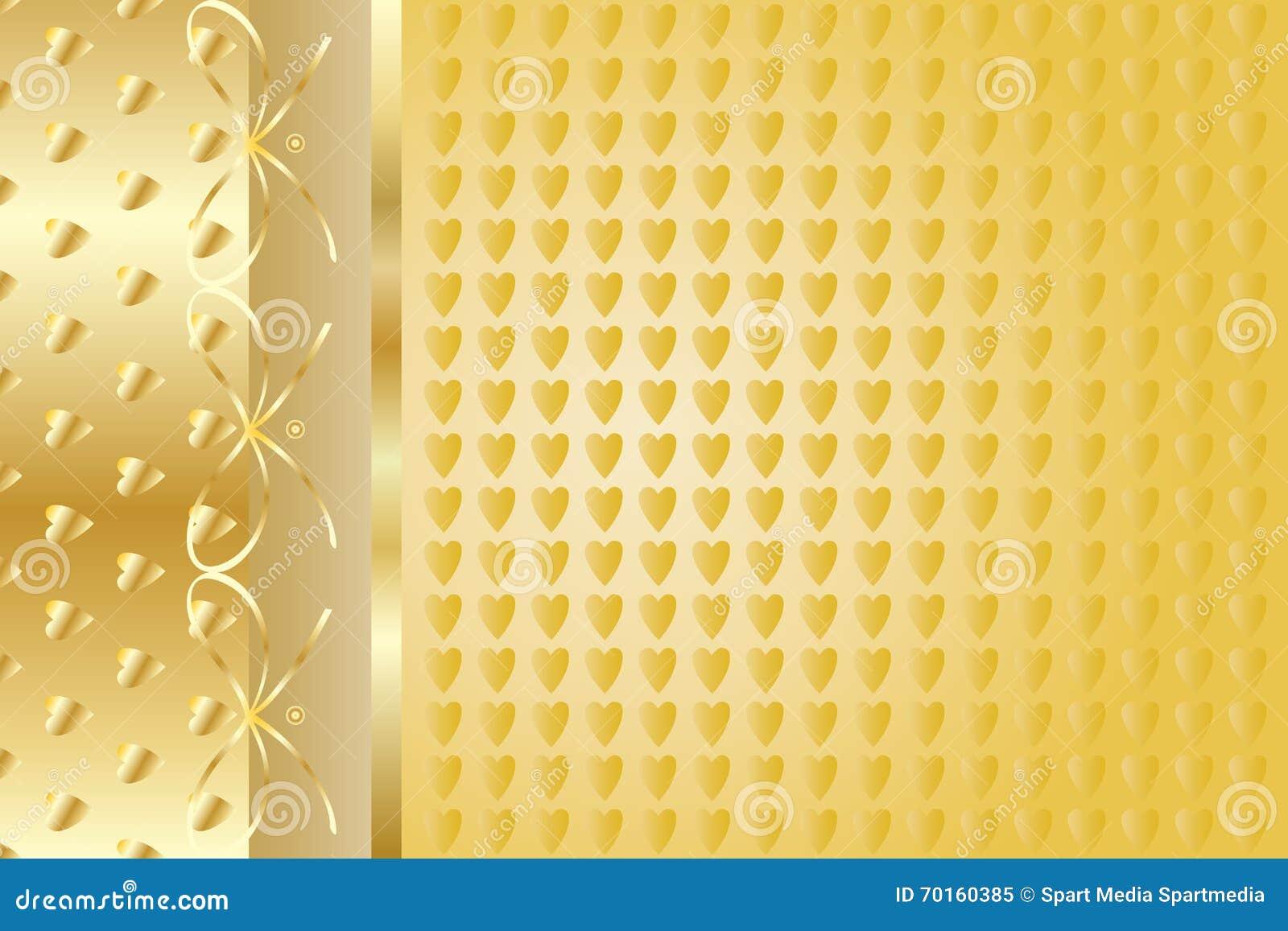 Fondo elegante del oro