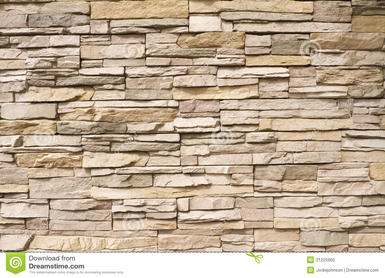 Fondo empilado de la pared de piedra horizontal imagen de - Pared de piedra ...