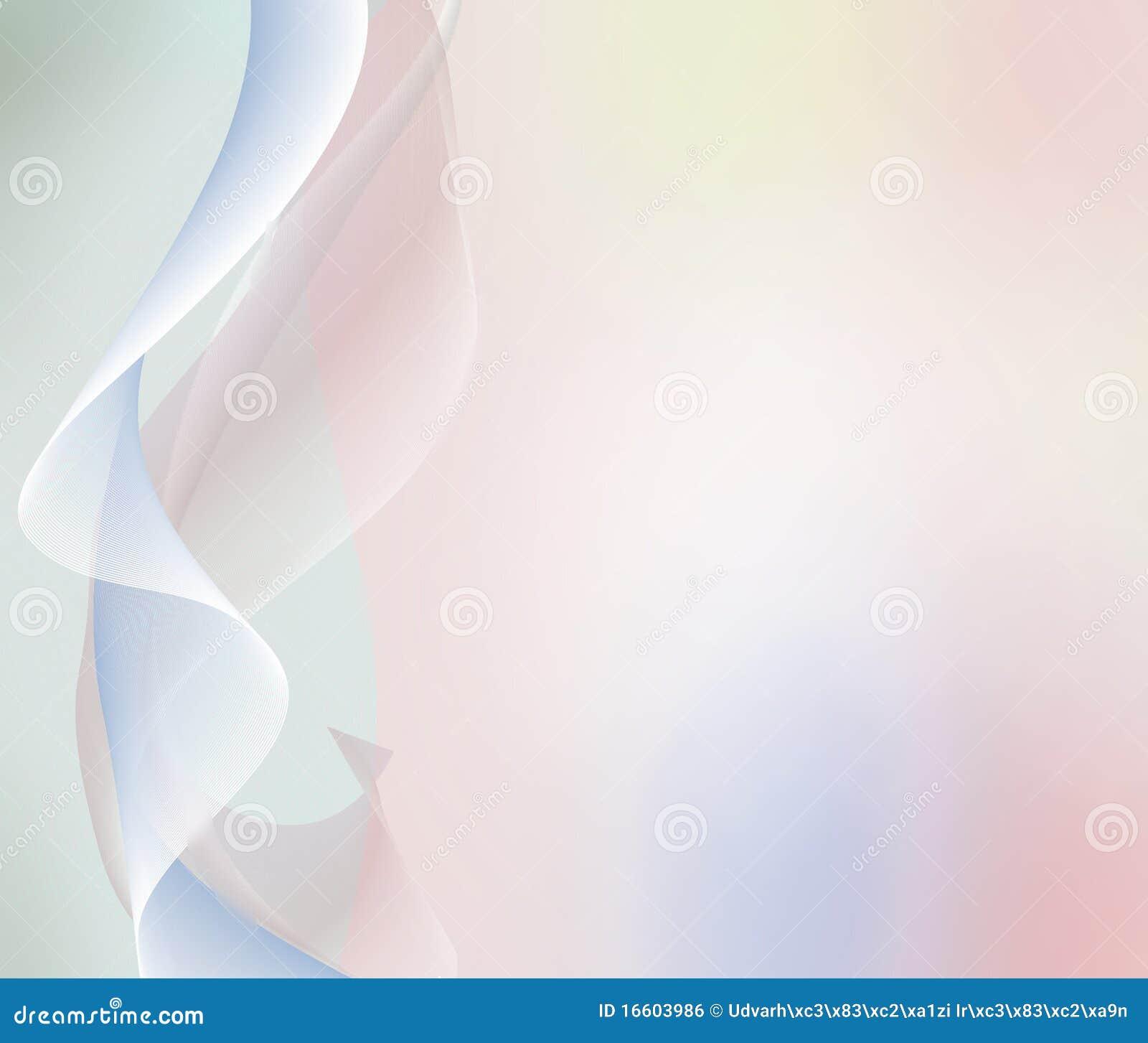 Fondo en colores pastel con las ondas y los lihgts del extracto