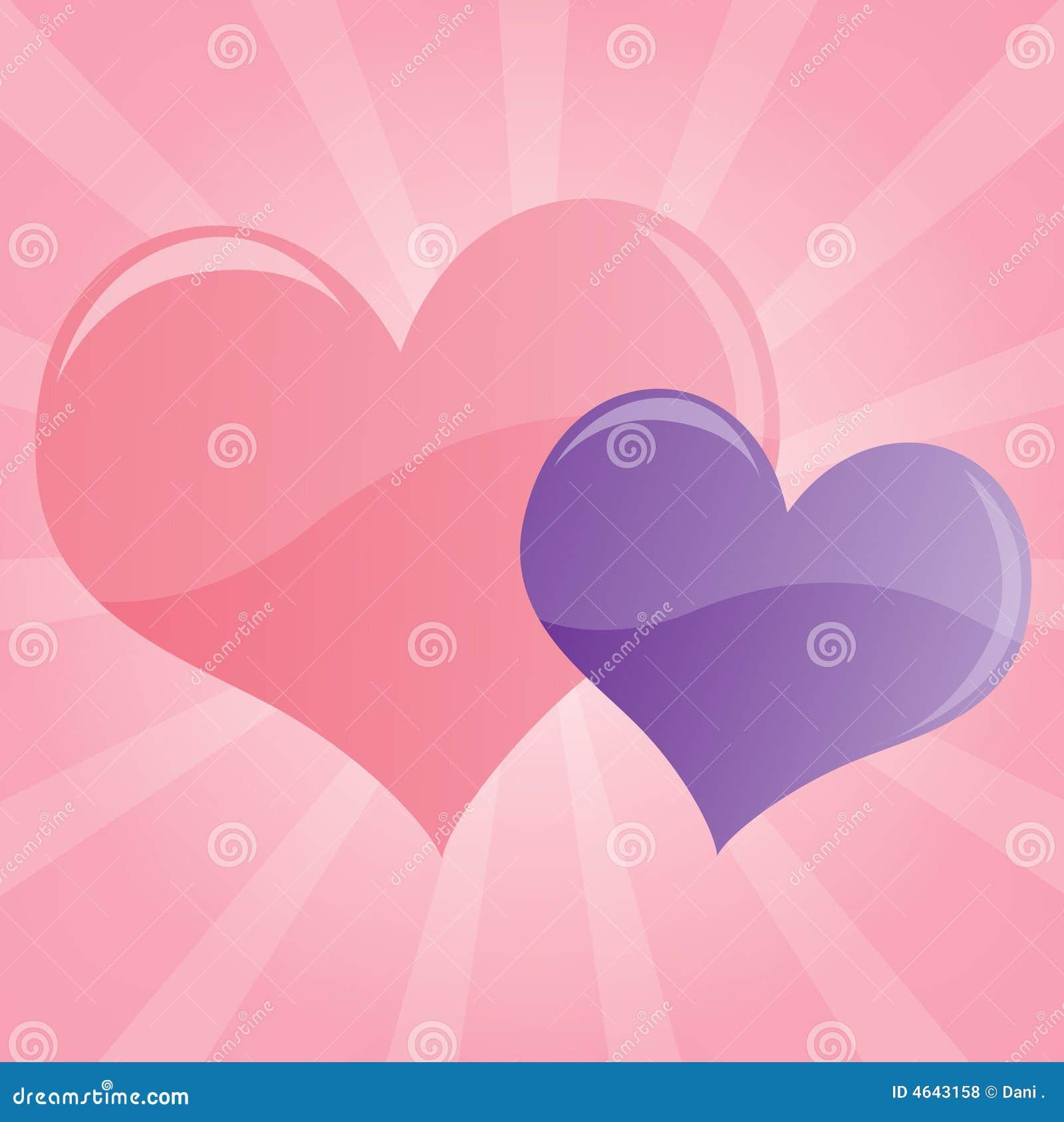 corazones de colores fondo - photo #45