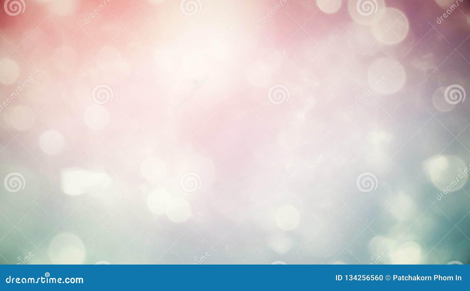 Fondo en colores pastel hermoso borroso extracto de la pendiente que brilla intensamente con la luz del bokeh de la exposición do