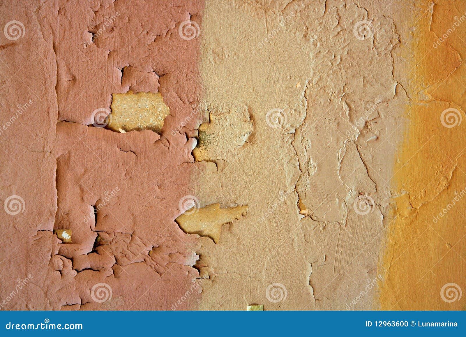 Fondo envejecido de la pared de la pintura del grunge - Pintura de pared ...