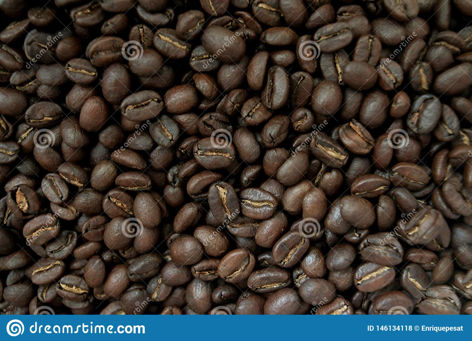 Fondo fatto dei chicchi di caff?